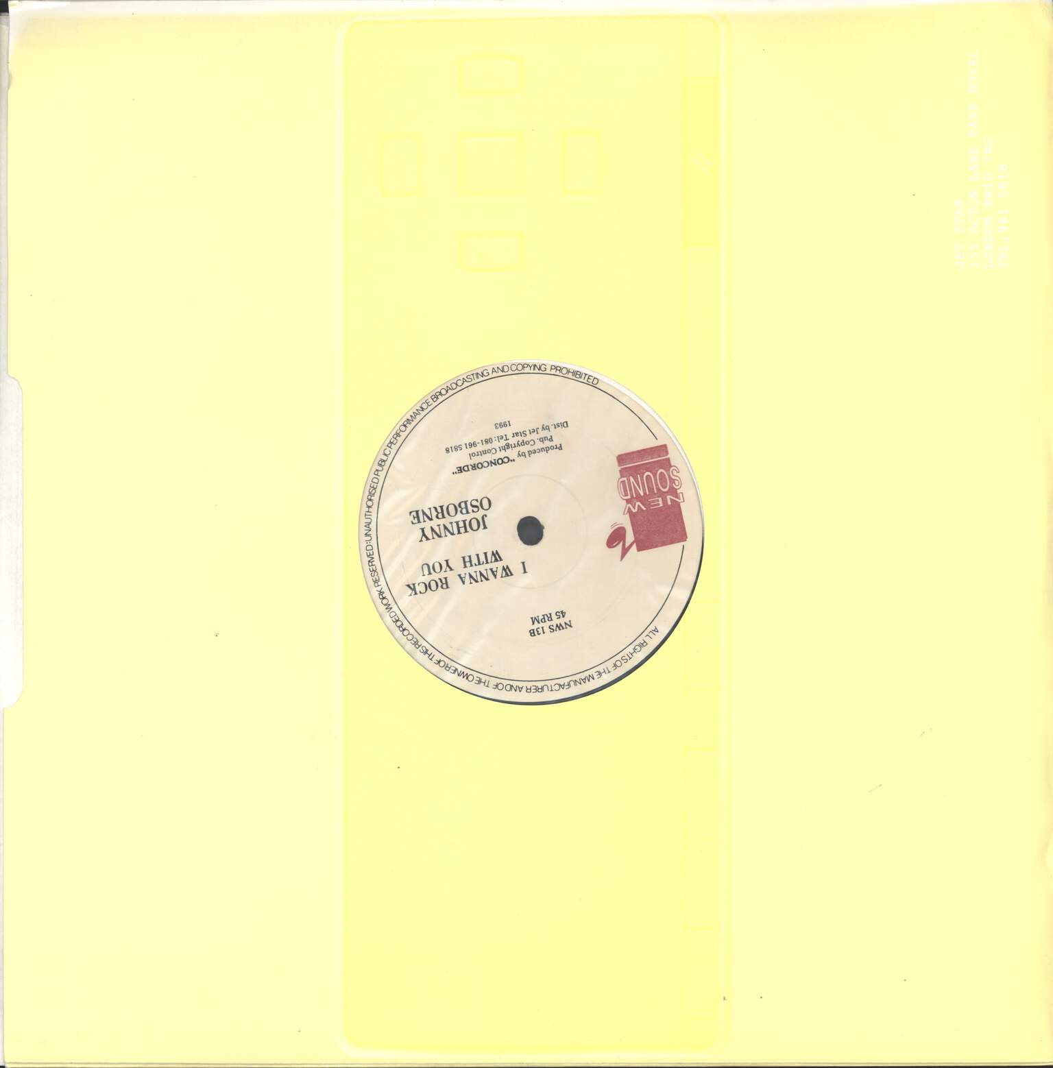 "Dirtsman: Body Look Sweet / I Wanna Rock With You, 12"" Maxi Single (Vinyl)"