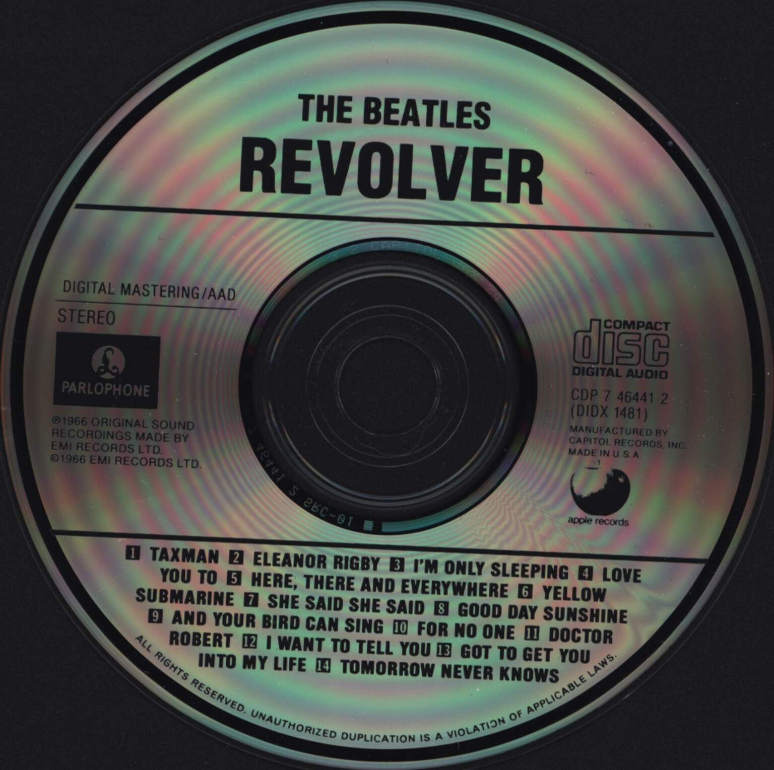 Beatles: Revolver, CD