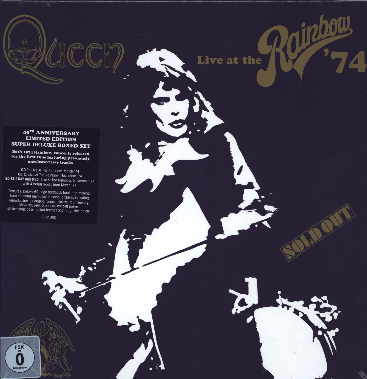 Queen: Live At The Rainbow '74 (Limited Super Deluxe Boxset), CD