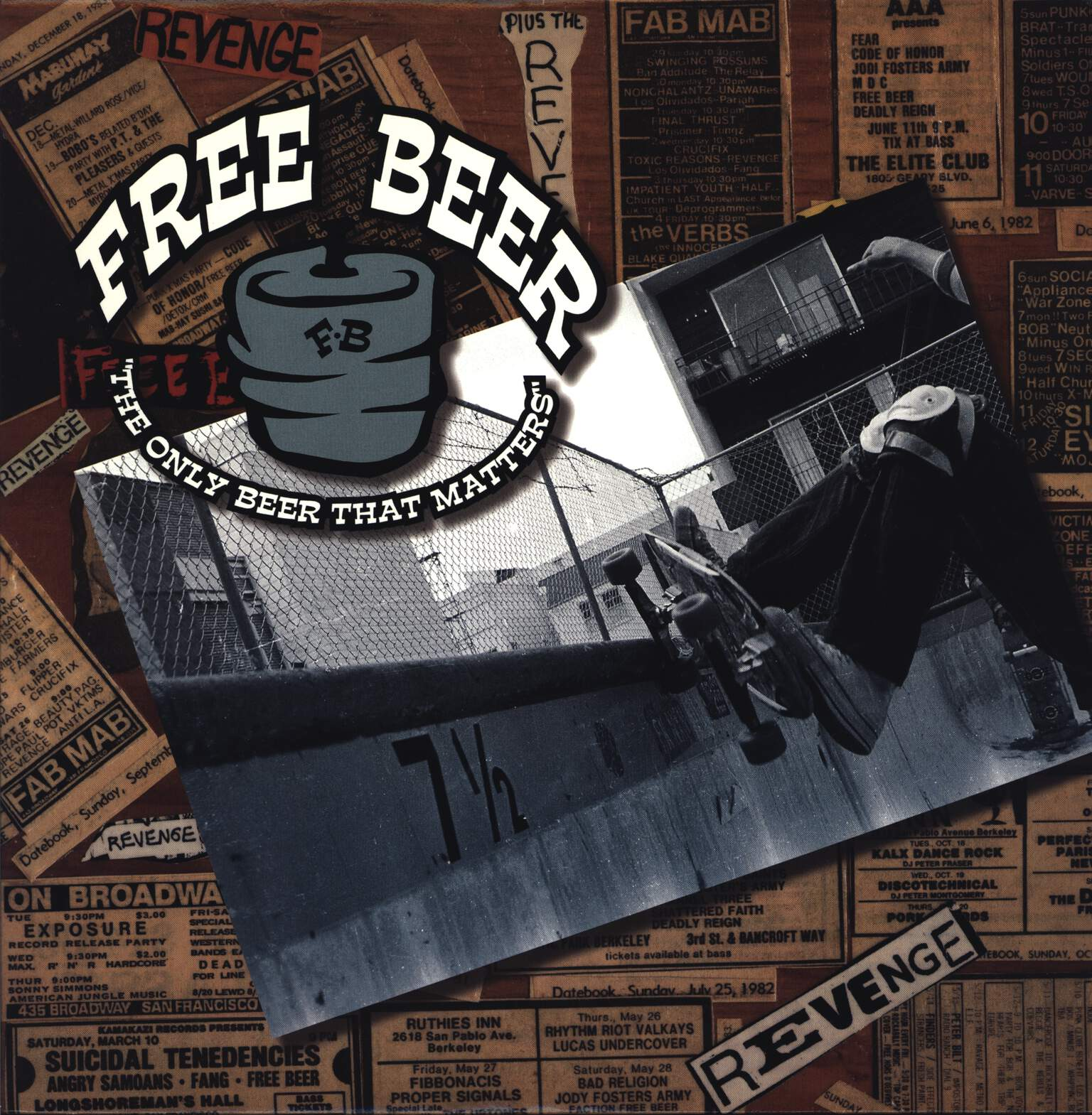 Free Beer: The Only Beer That Matters, LP (Vinyl)