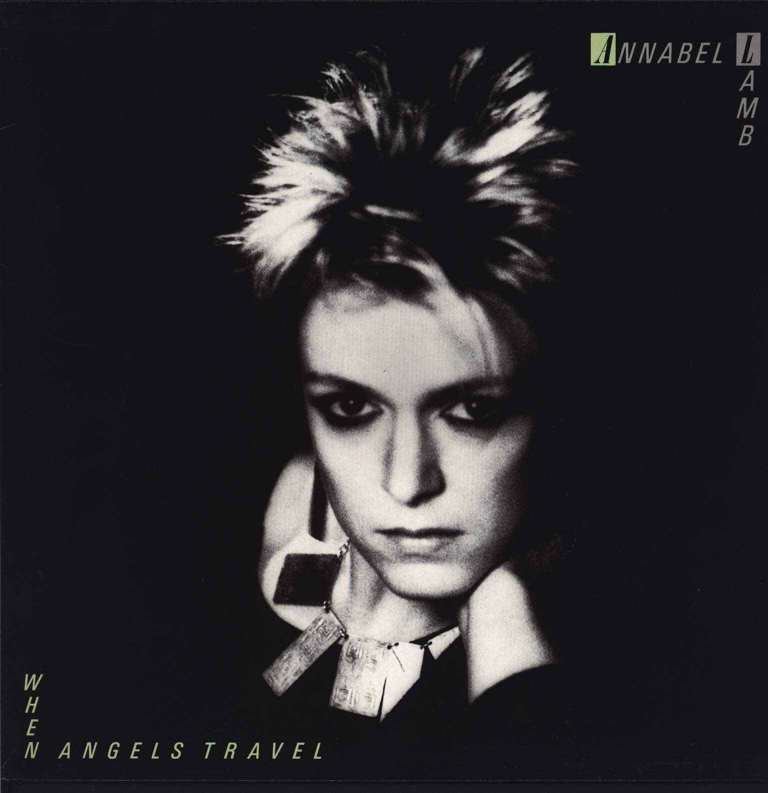 "Annabel Lamb: When Angels Travel / Mixing, 12"" Maxi Single (Vinyl)"