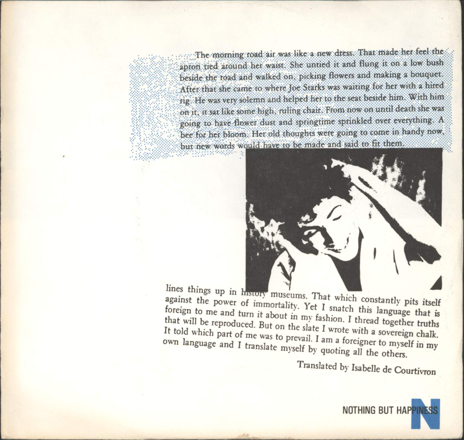 "Nothing But Happiness: Narcotics Day, 7"" Single (Vinyl)"