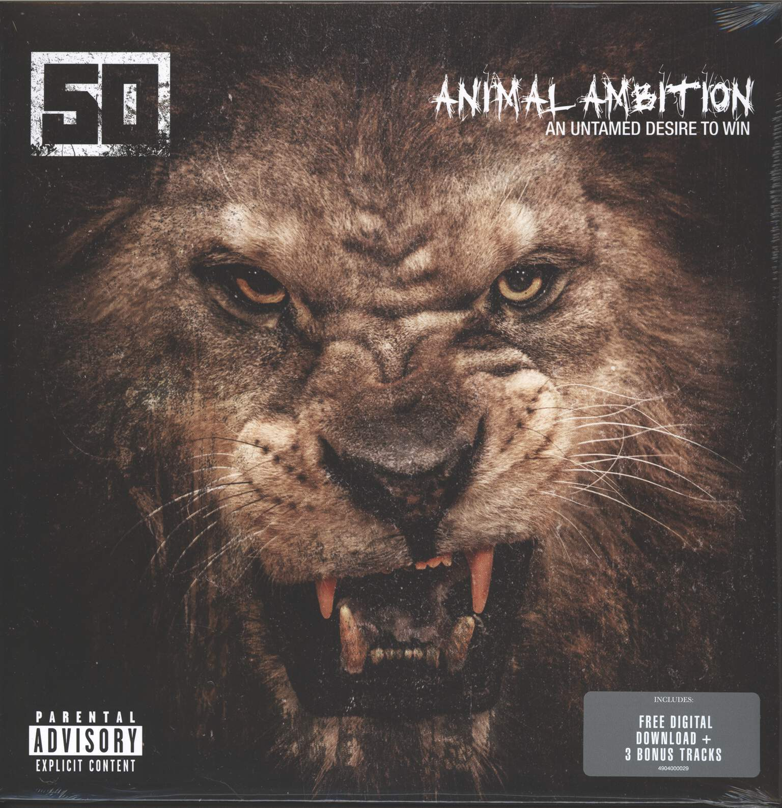 50 Cent: Animal Ambition (An Untamed Desire To Win), LP (Vinyl)