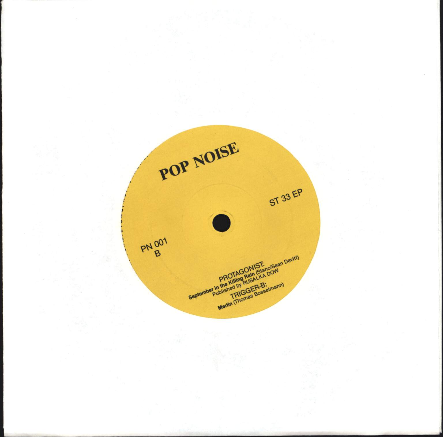 "Various: Pop Noise Ep #1, 7"" Single (Vinyl)"