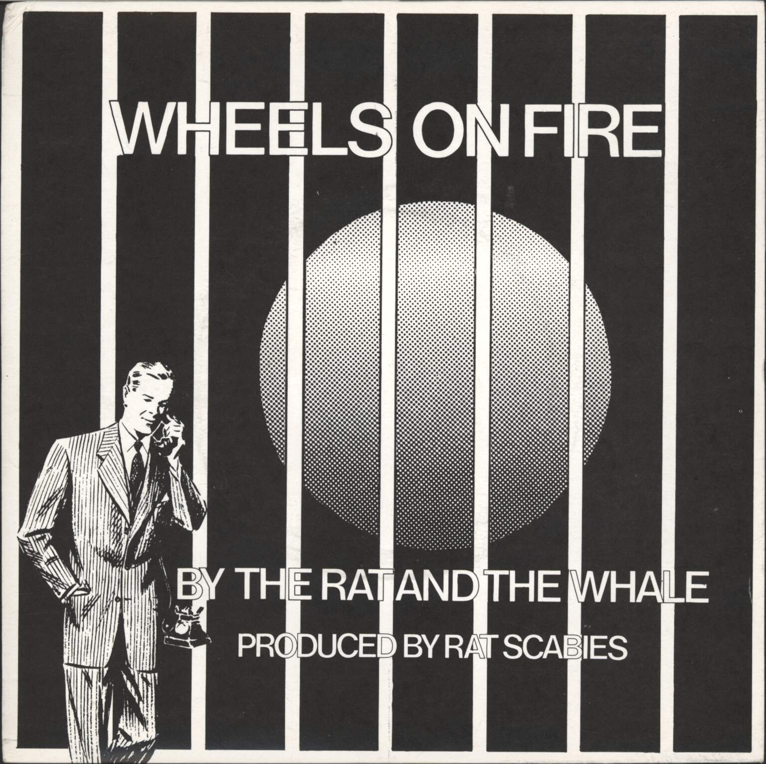 "Rat Scabies: Wheels On Fire, 7"" Single (Vinyl)"