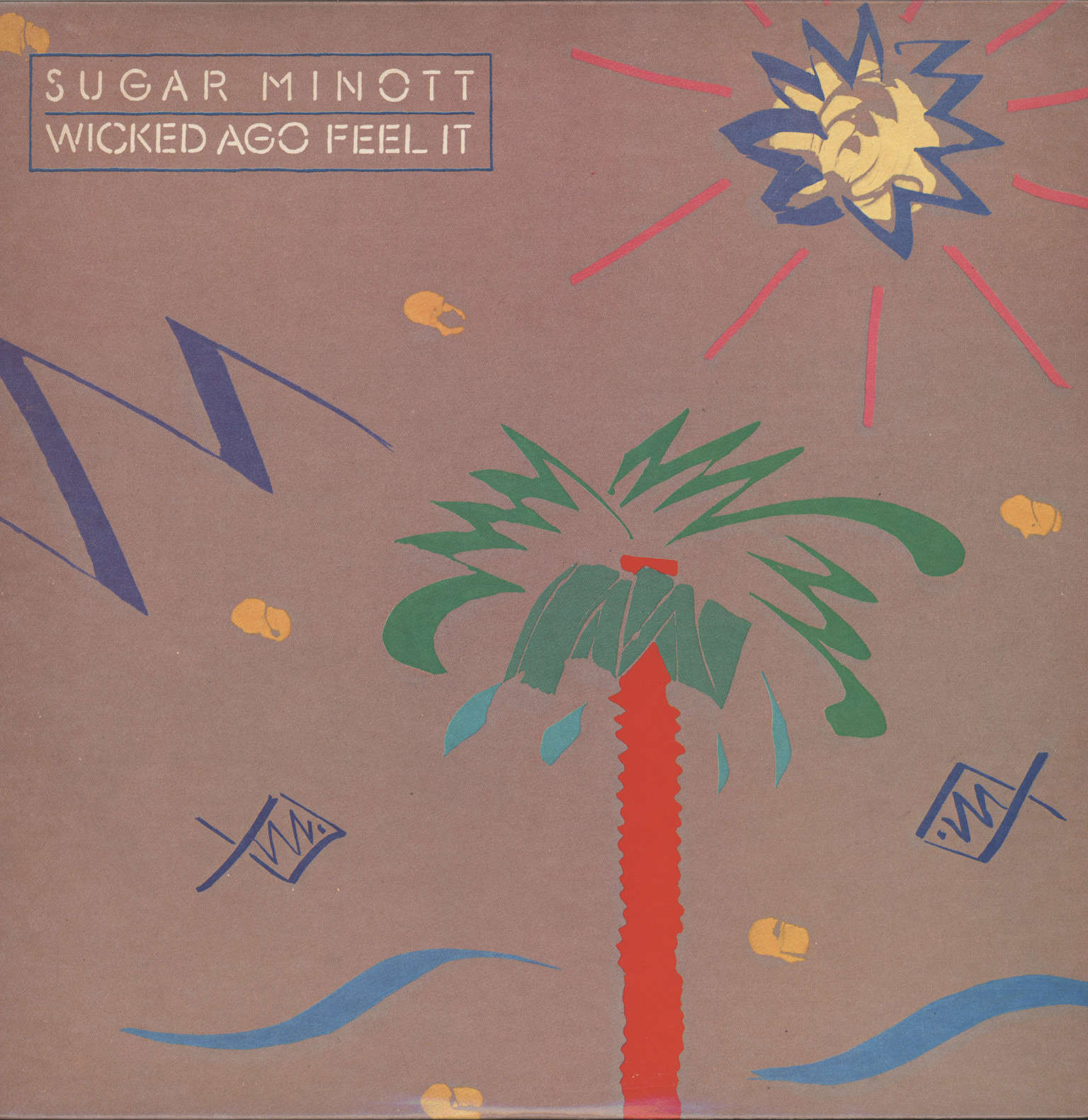 Sugar Minott: Wicked Ago Feel It, LP (Vinyl)
