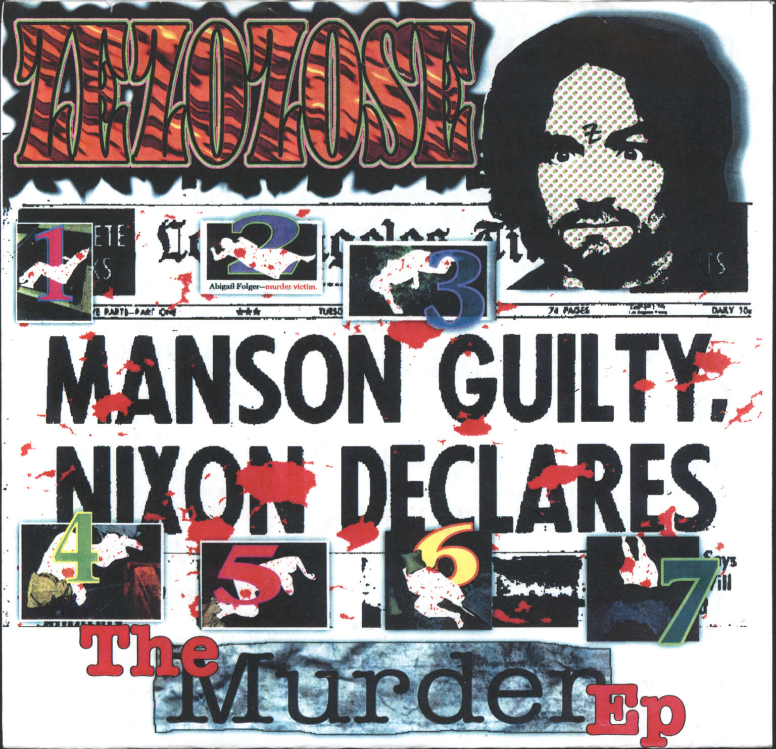 "Zezozose: The Murder EP, 7"" Single (Vinyl)"