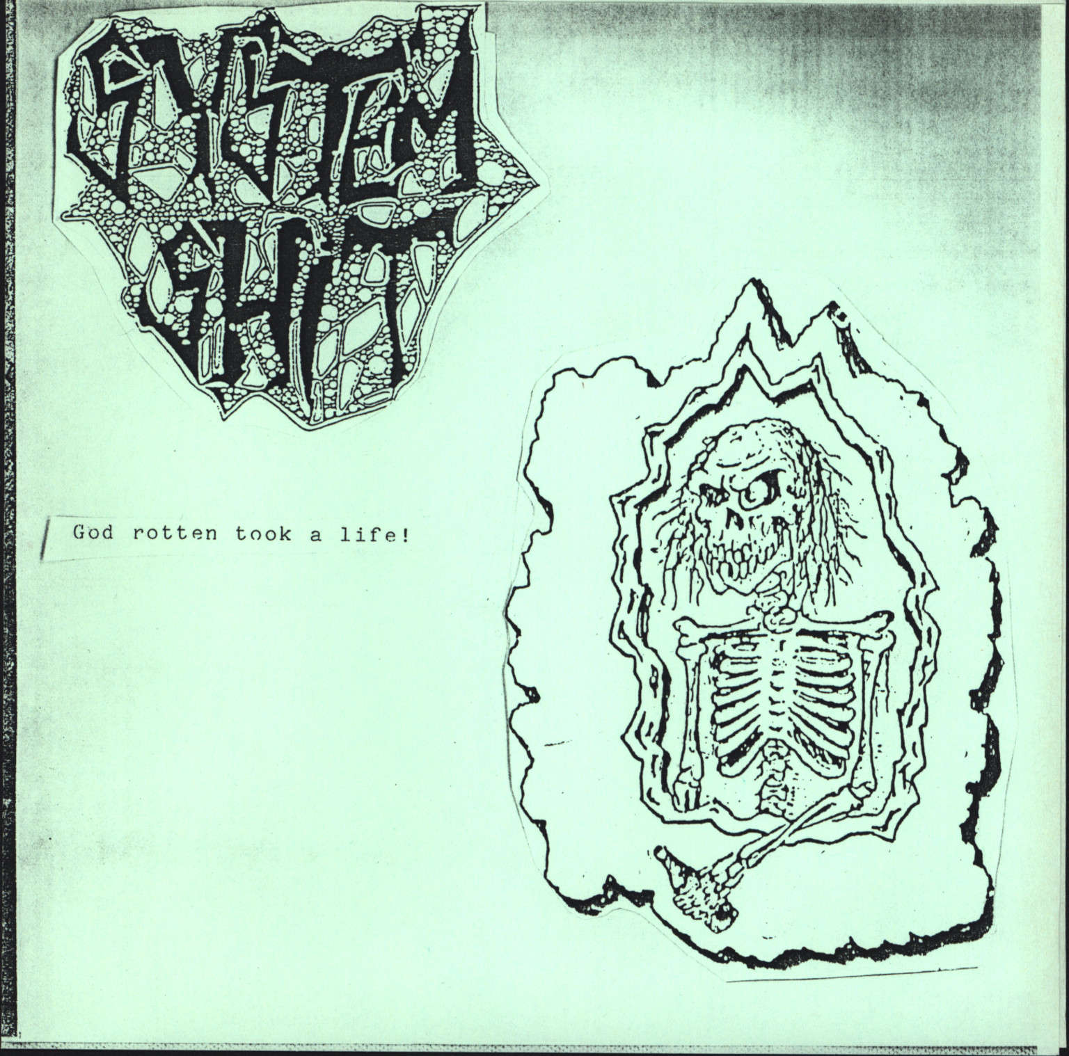 "System Shit: God Rotten Took A Life / Rising Nation, 7"" Single (Vinyl)"
