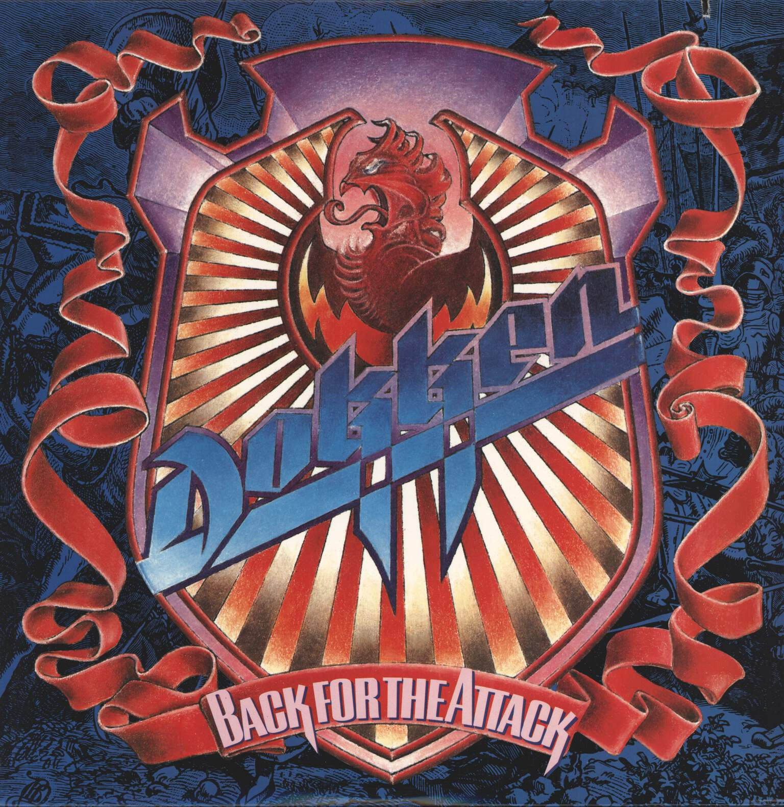 Dokken: Back For The Attack, LP (Vinyl)