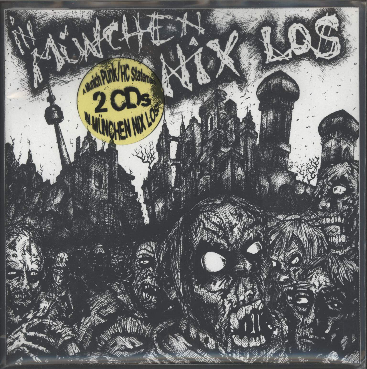 Various: In München Nix Los! A Munich Punk / HC Statement, CD