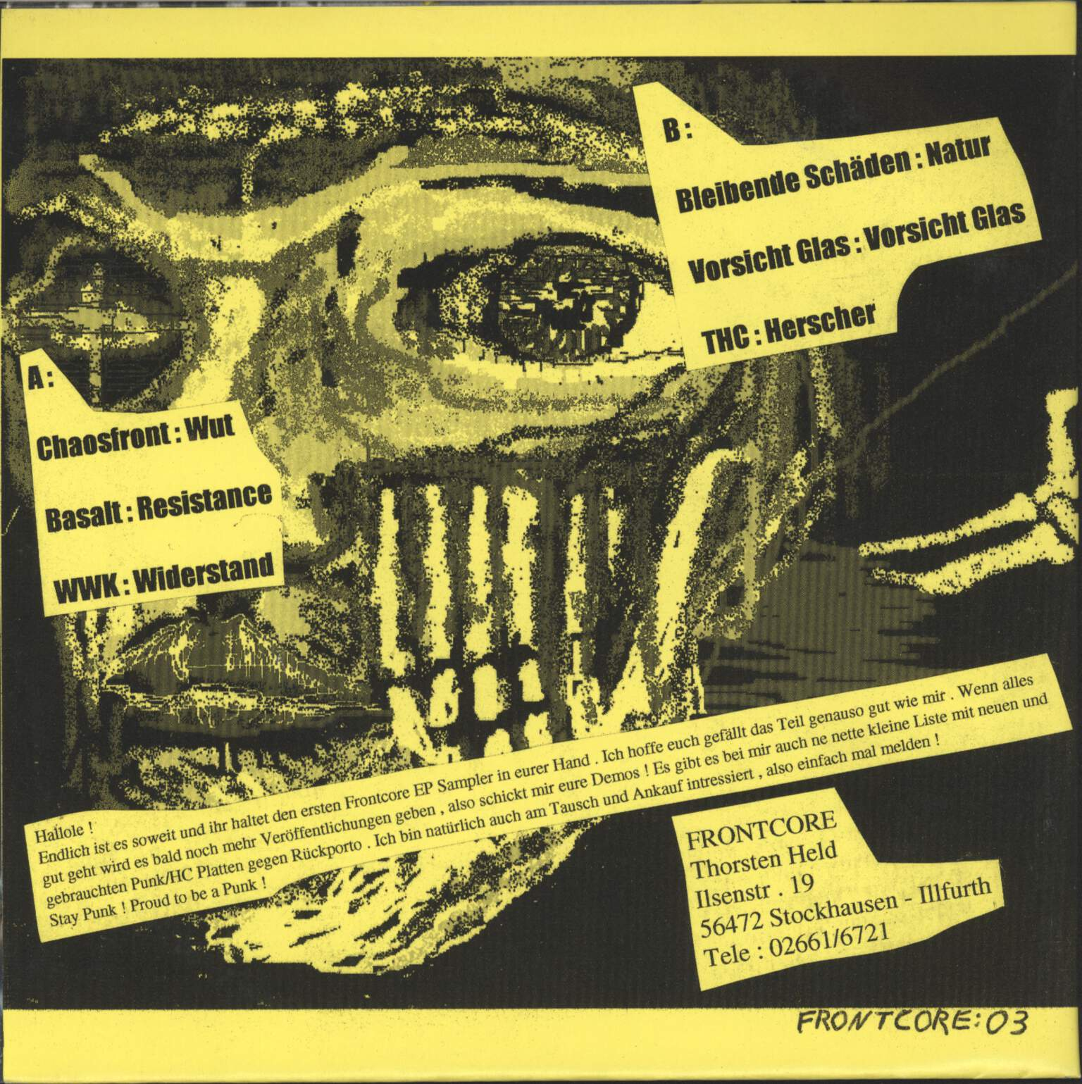 "Various: Music Against The Human Race, 7"" Single (Vinyl)"