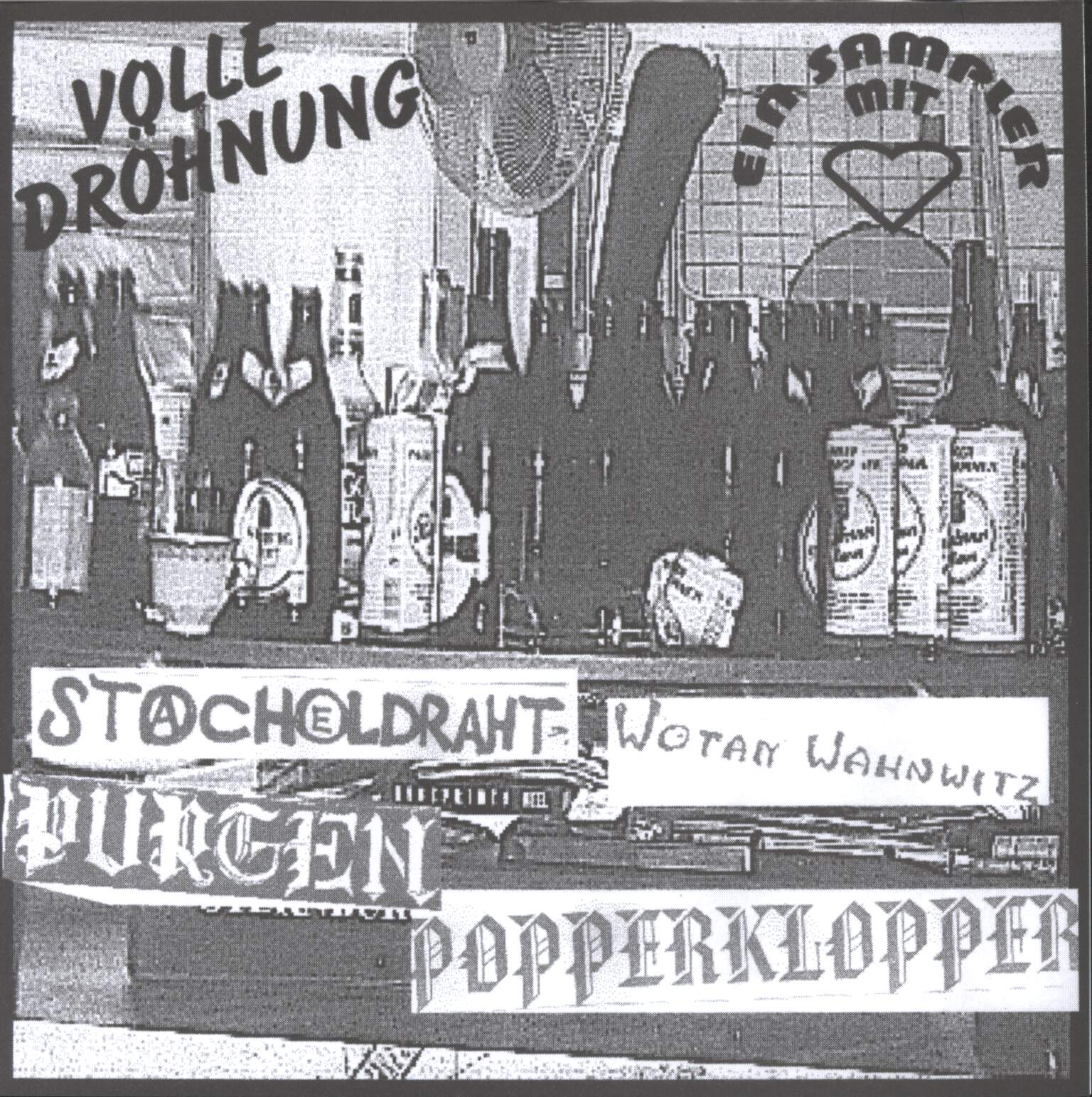 "Various: Volle Dröhnung, 7"" Single (Vinyl)"