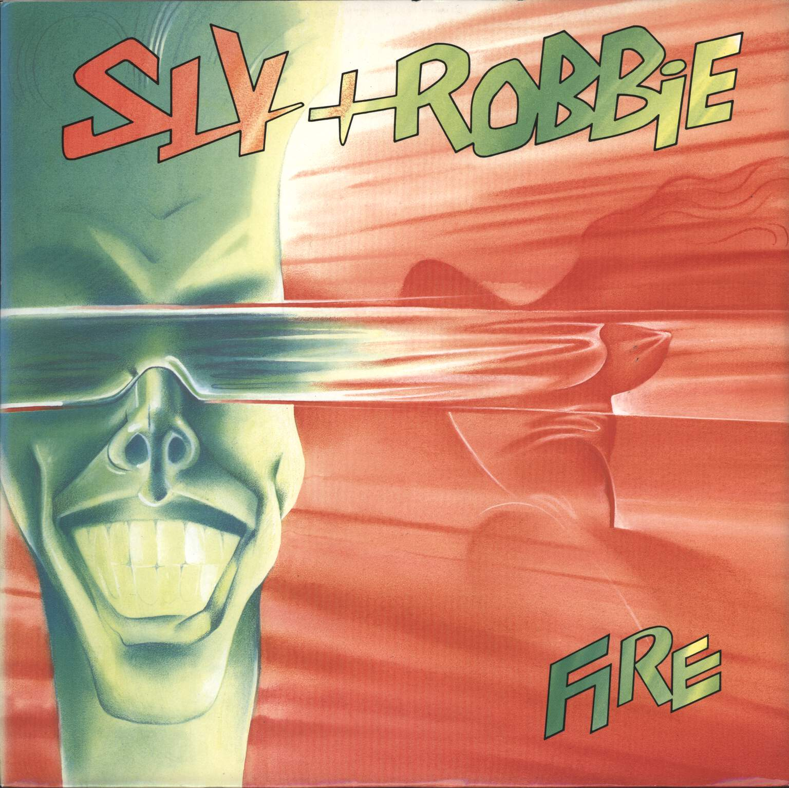 "Sly + Robbie: Fire, 12"" Maxi Single (Vinyl)"