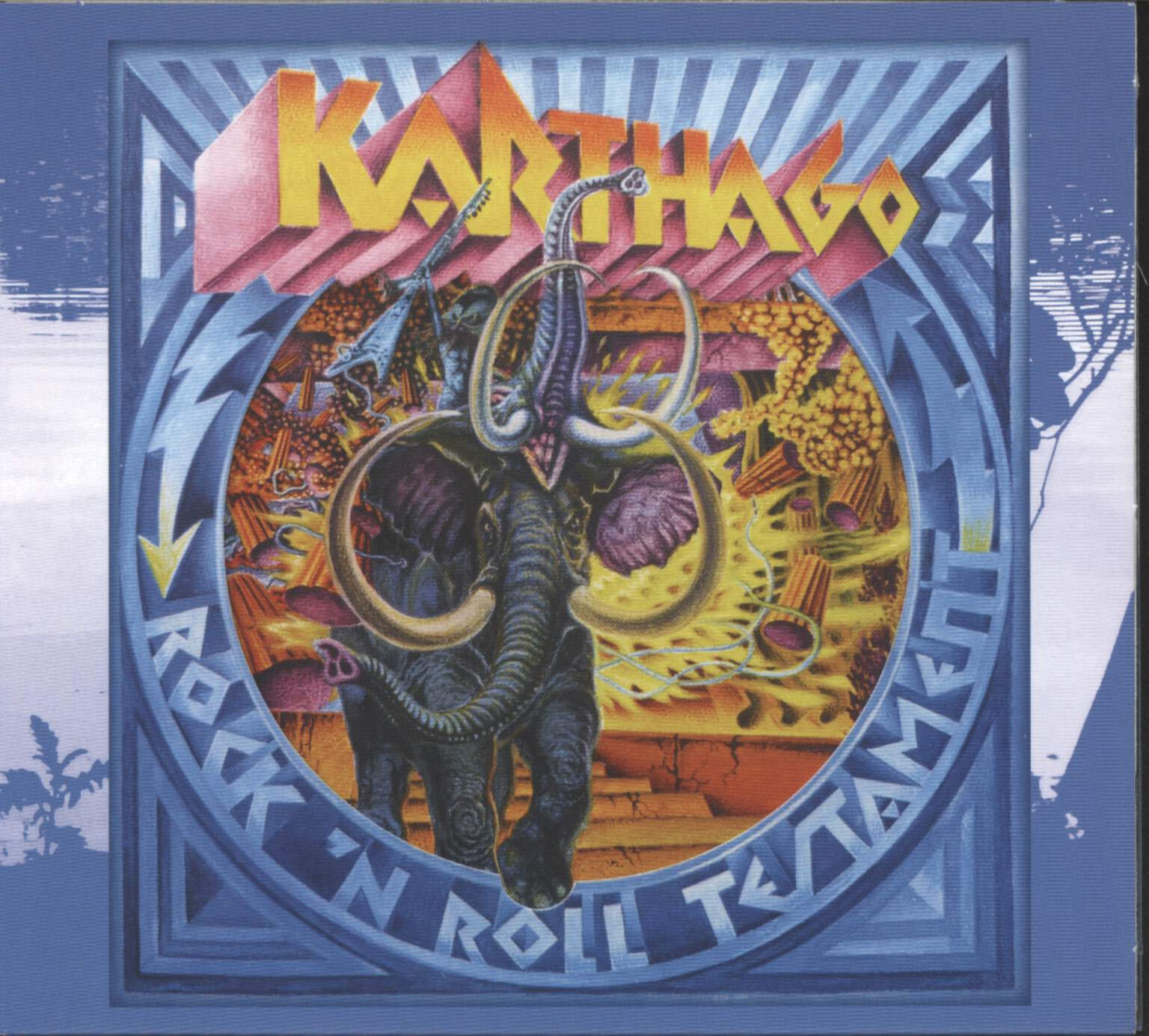 Karthago: Rock N Roll Testament, CD