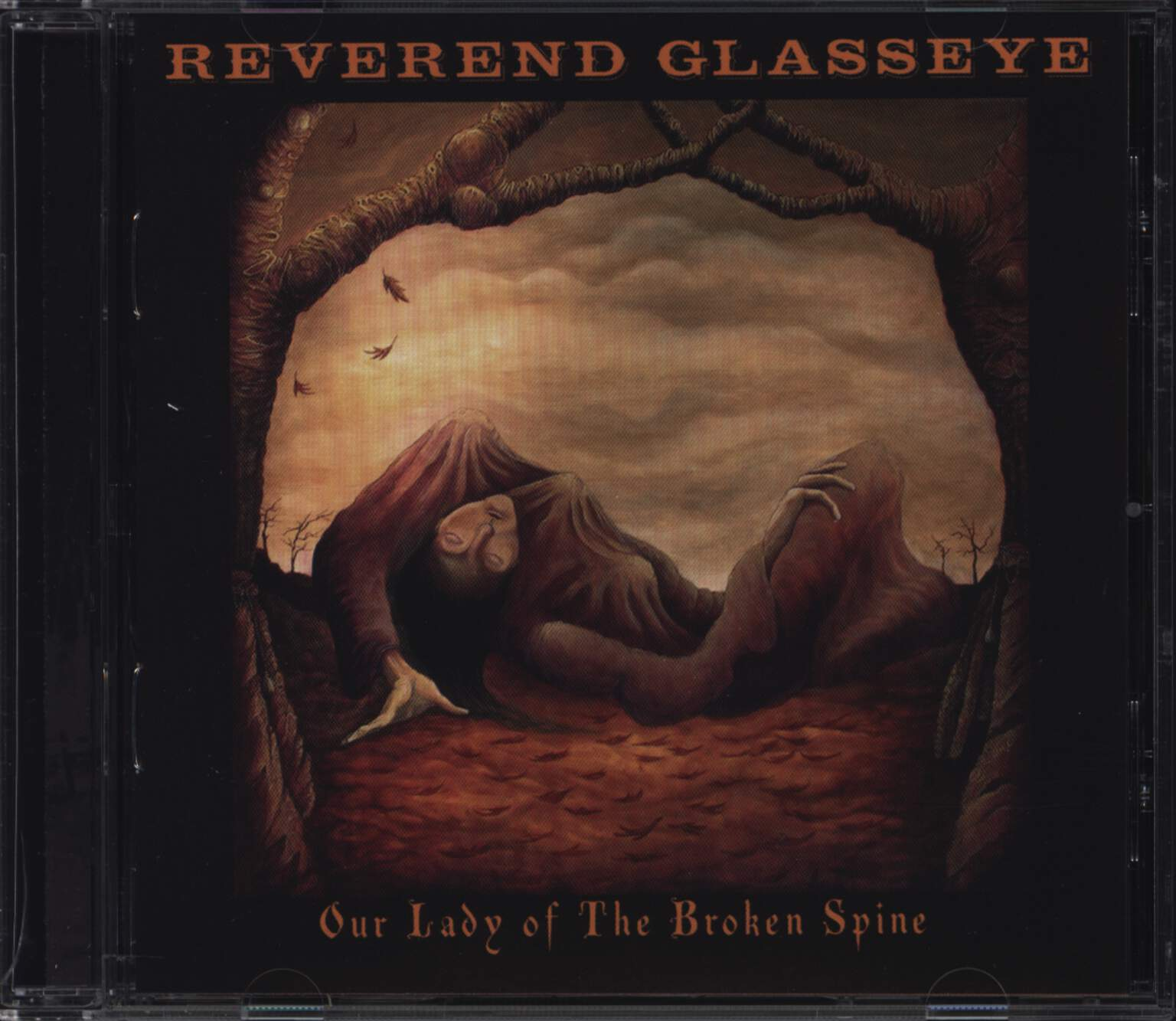 Reverend Glasseye: Our Lady Of The Broken Spine, CD
