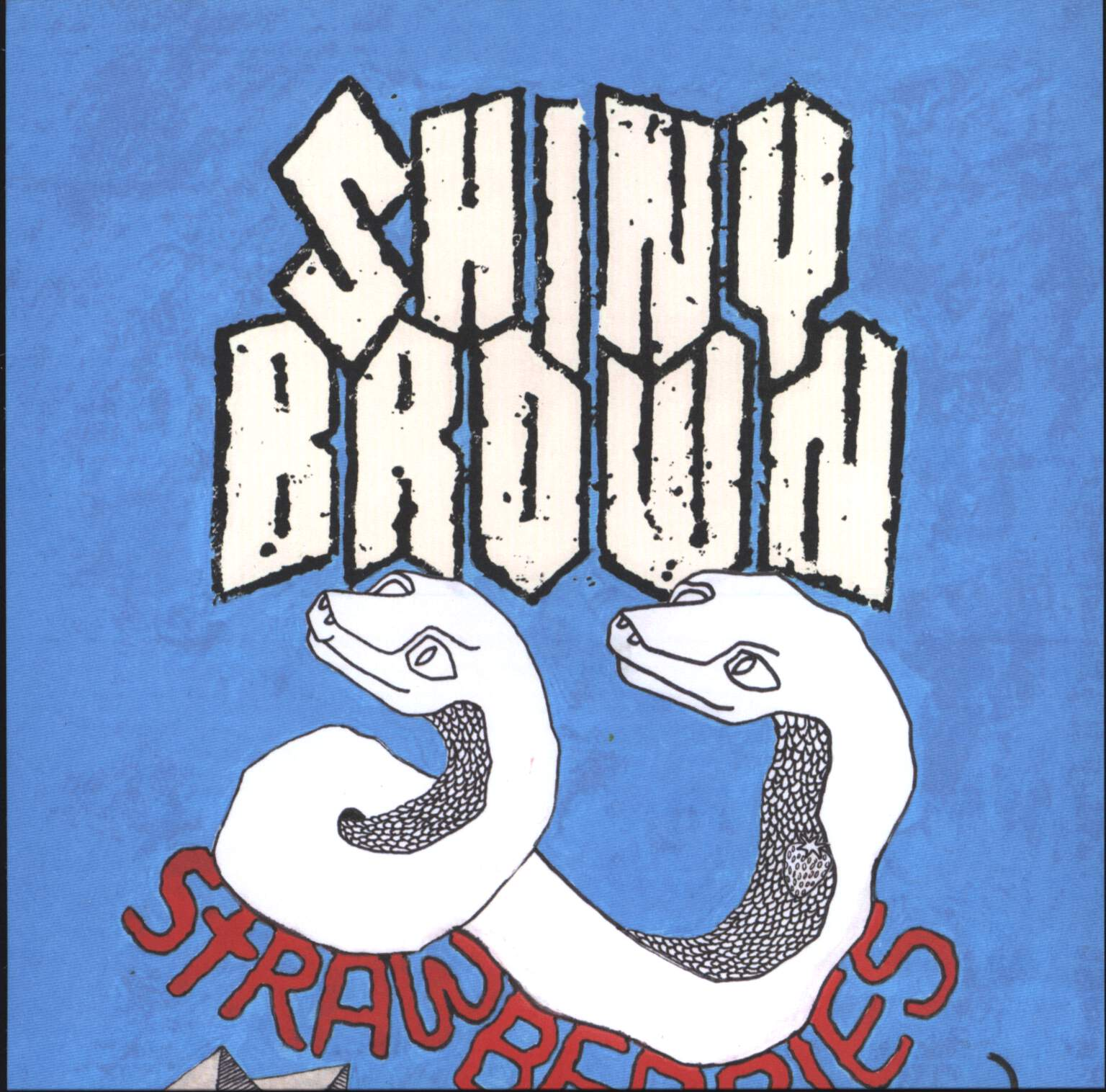 "Shiny Brown: Strawberries, 7"" Single (Vinyl)"
