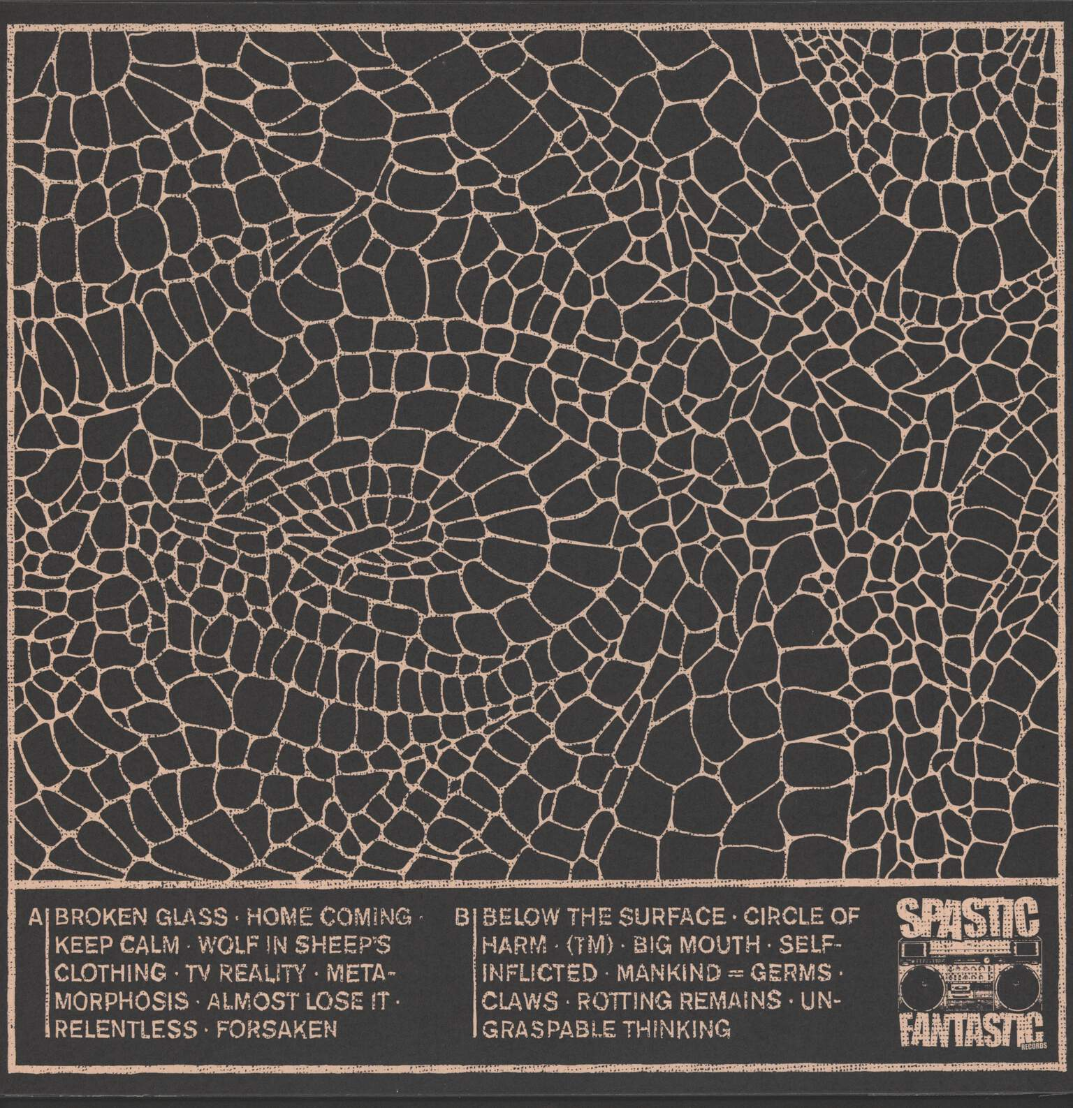 "Derbe Lebowski: Broken Glass, 12"" Maxi Single (Vinyl)"