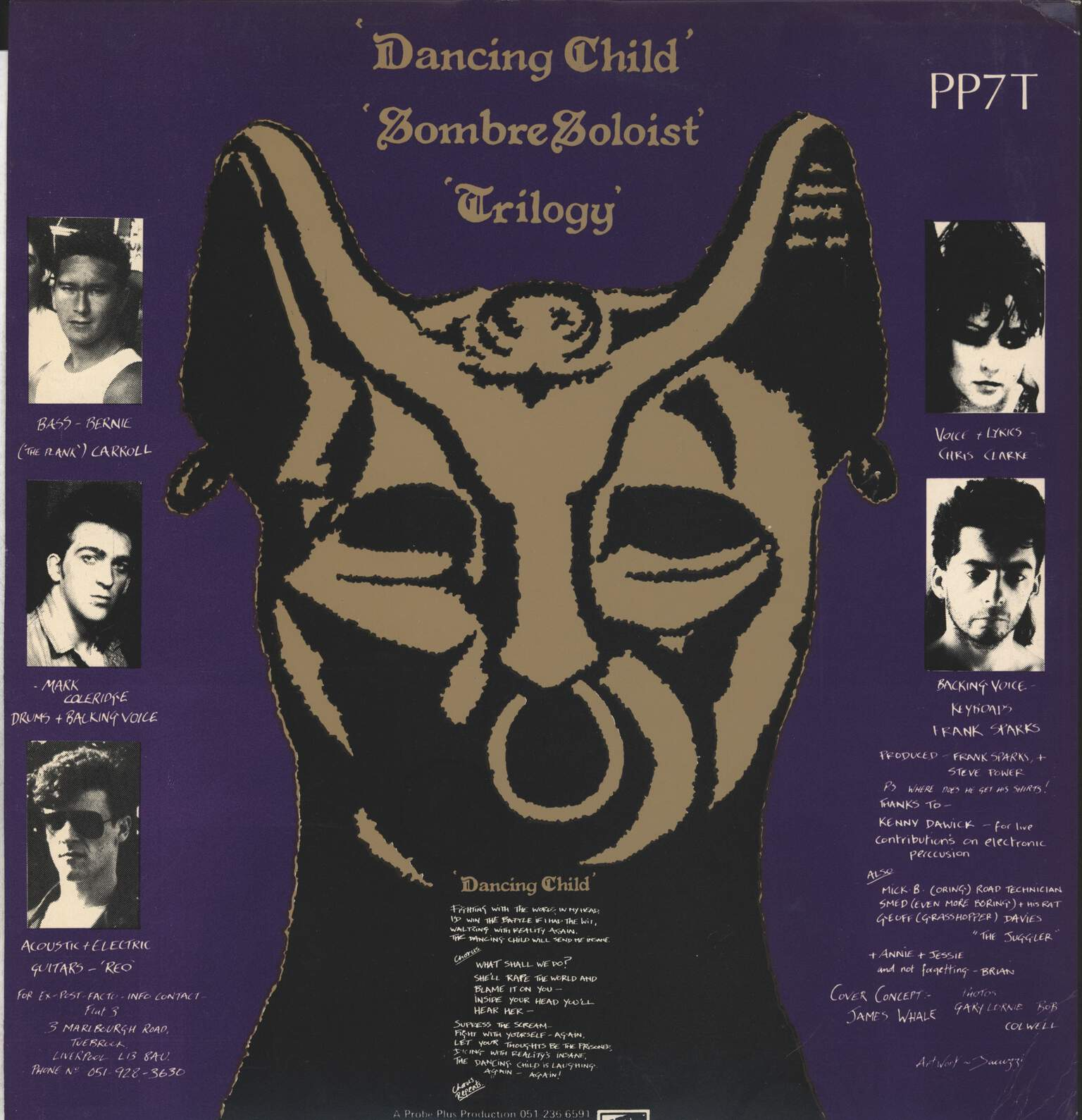 "Ex Post Facto: Dancing Child, 12"" Maxi Single (Vinyl)"