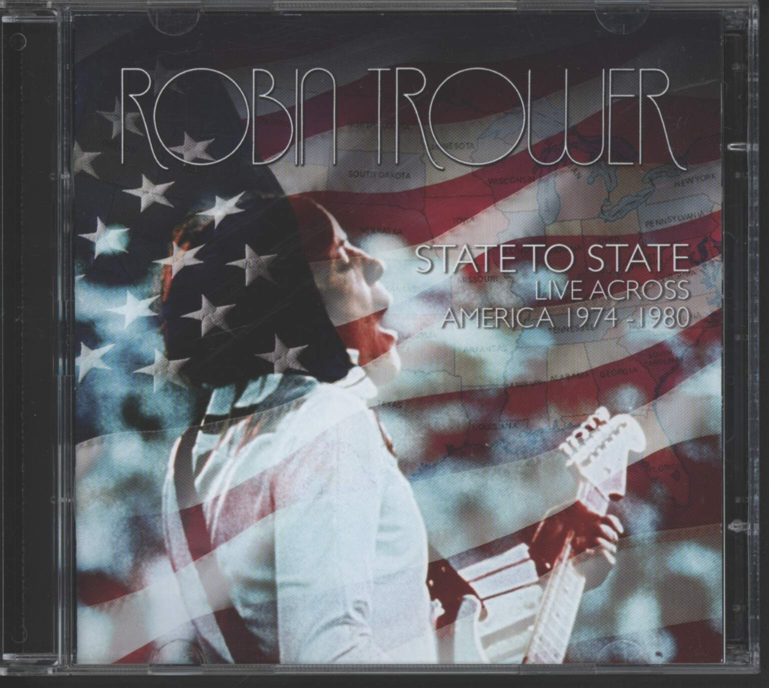 Robin Trower: State To State - Live Across America 1974-1980, CD