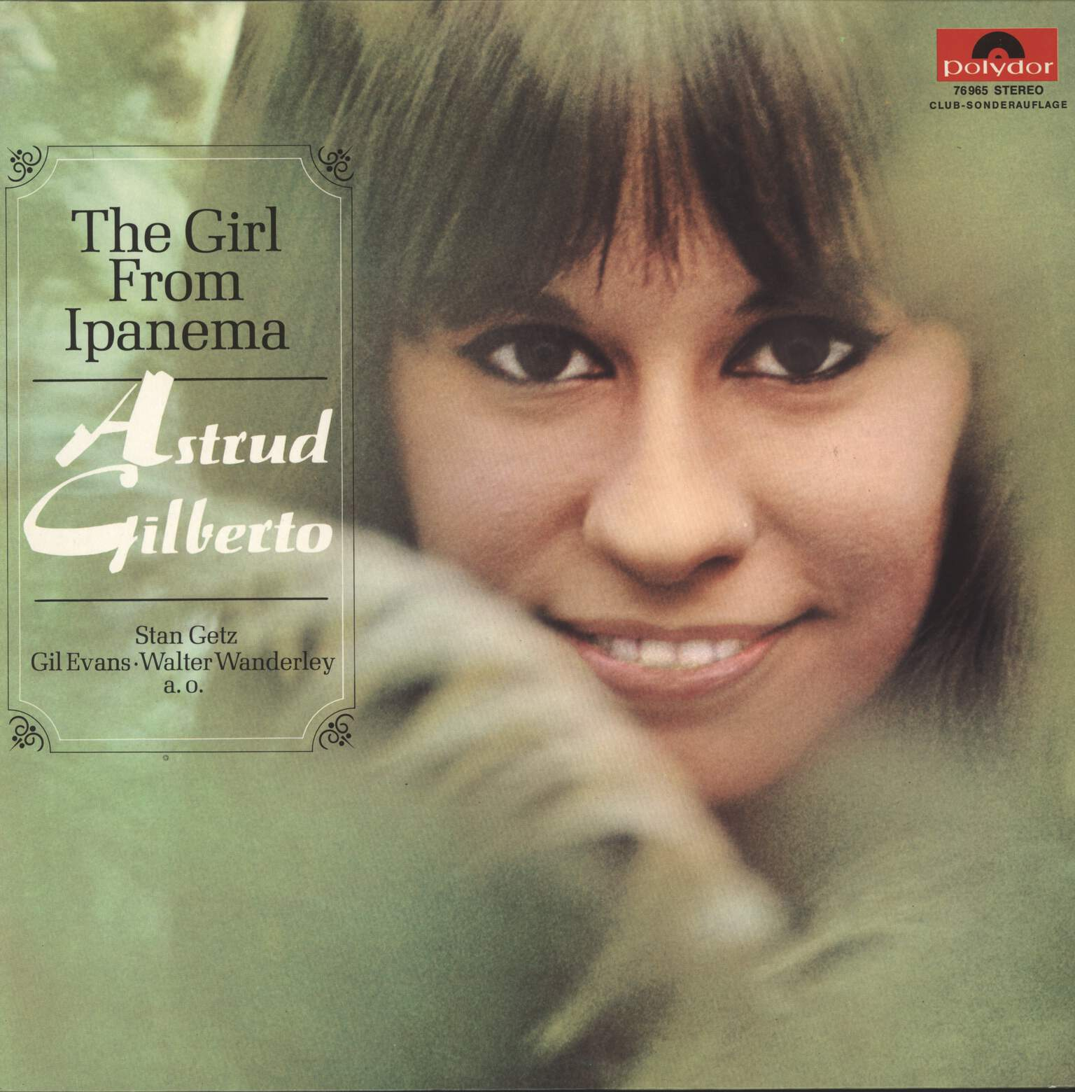 Astrud Gilberto: The Girl From Ipanema, LP (Vinyl)