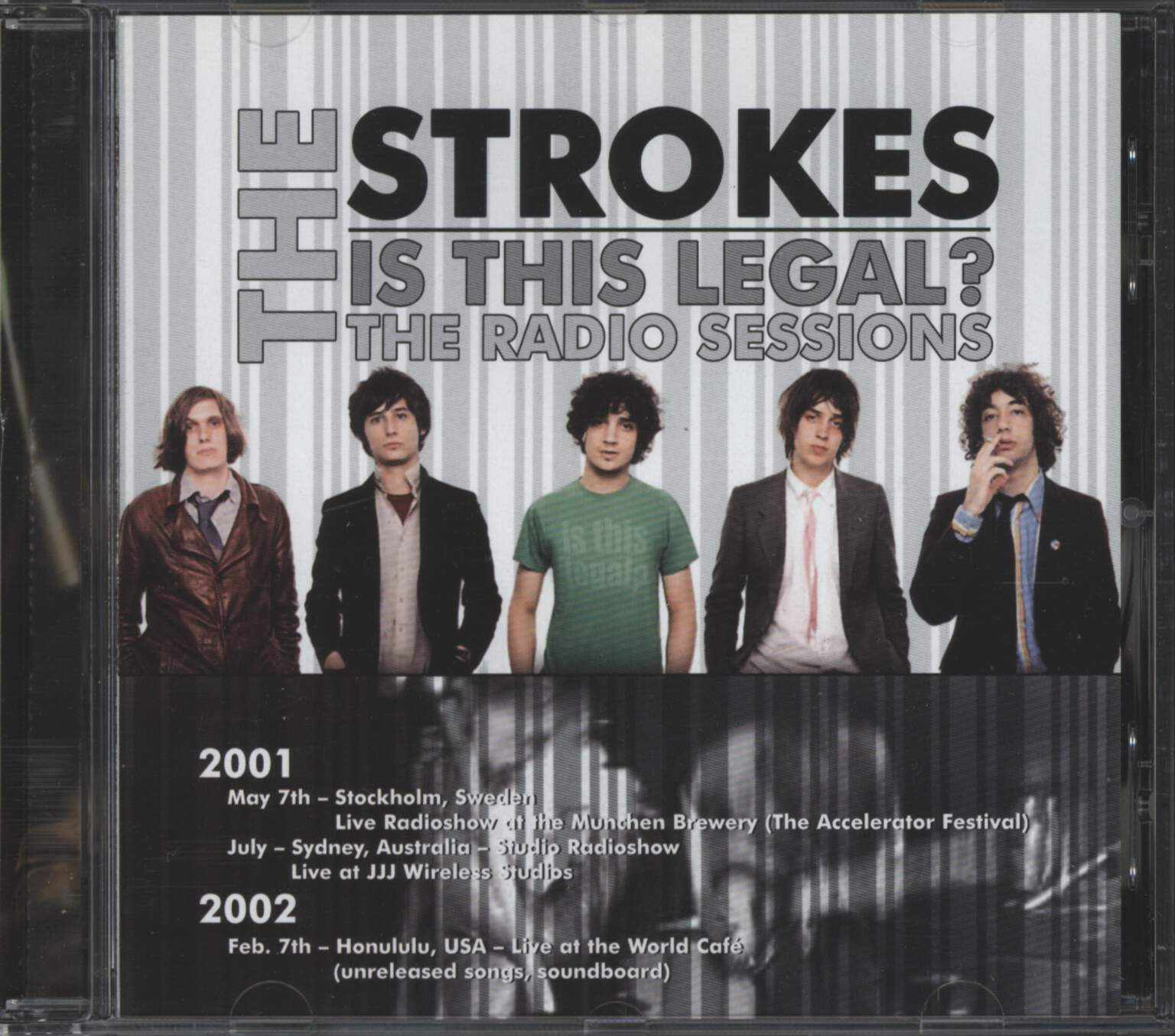 Strokes: Is This Legal?, CD