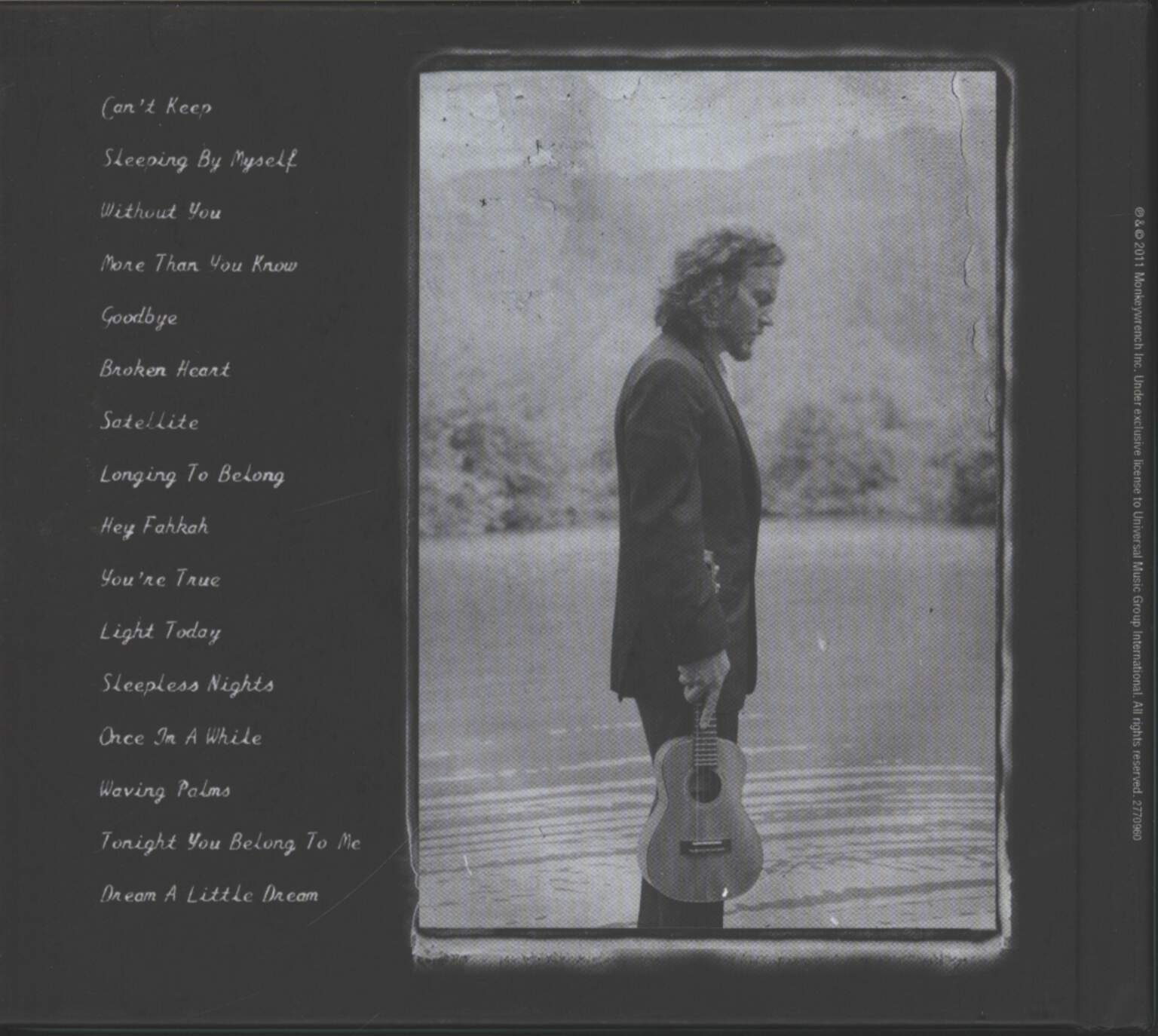 Eddie Vedder: Ukulele Songs, CD