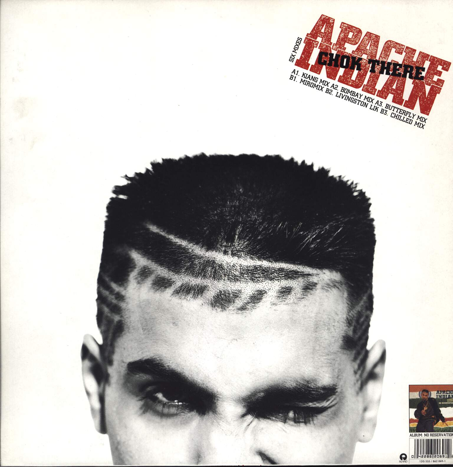 "Apache Indian: Chok There, 12"" Maxi Single (Vinyl)"