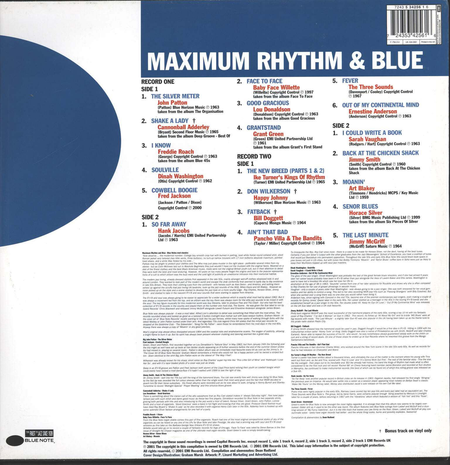 Various: Maximum Rhythm & Blue, LP (Vinyl)