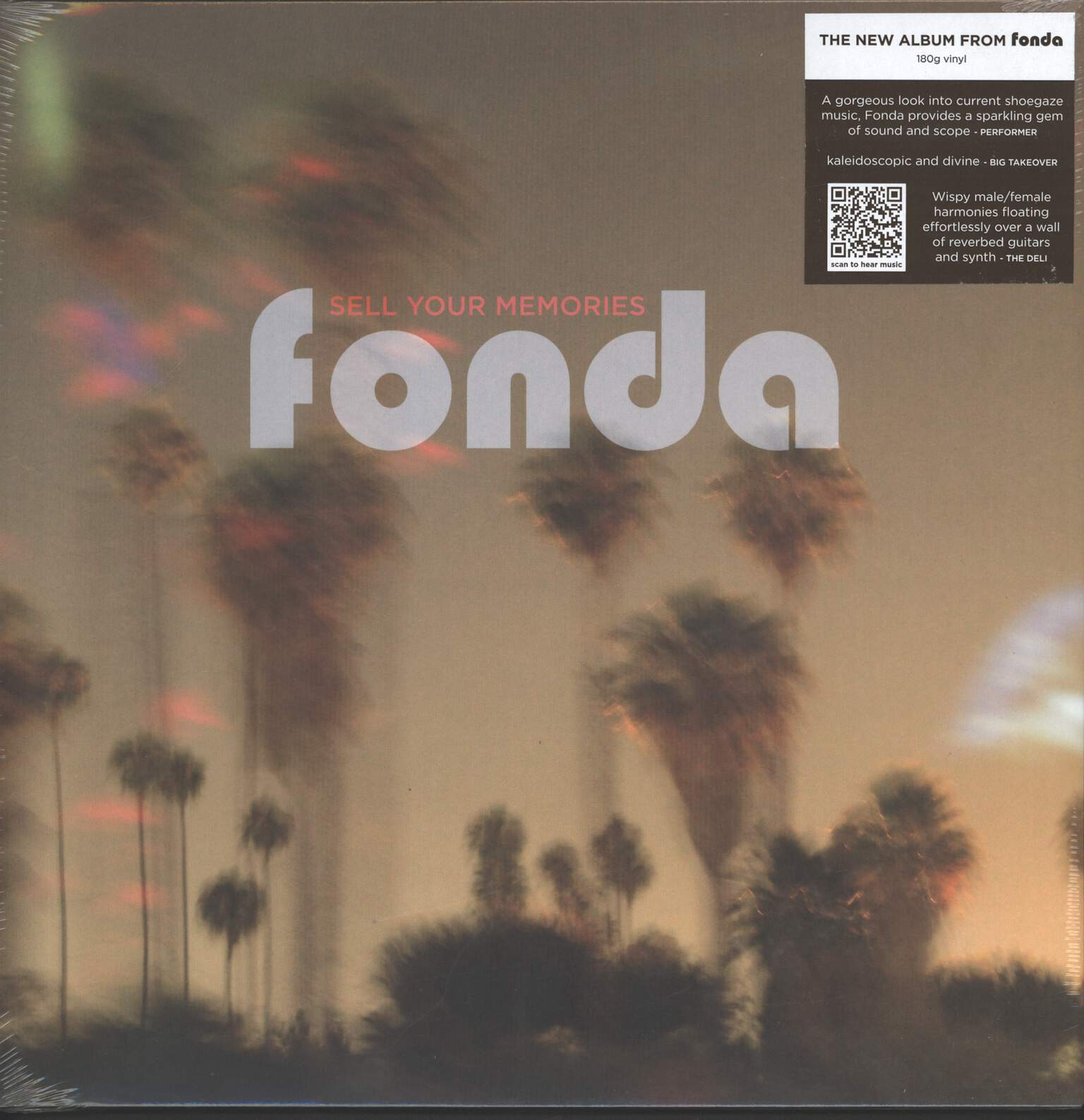 Fonda: Sell Your Memories, LP (Vinyl)