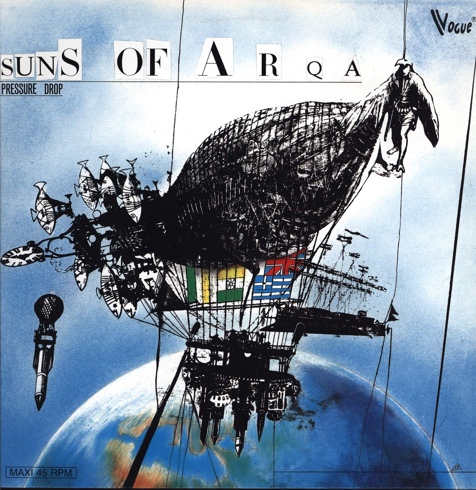 "Suns Of Arqa: Pressure Drop, 12"" Maxi Single (Vinyl)"