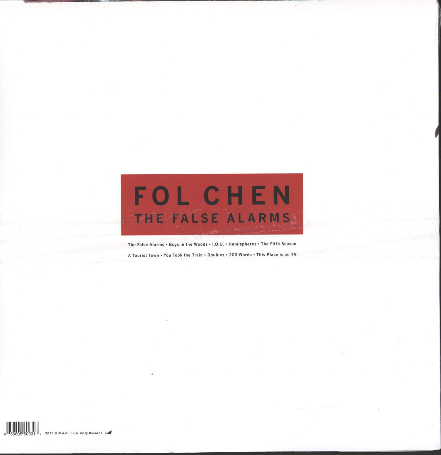 Fol Chen: The False Alarms, LP (Vinyl)