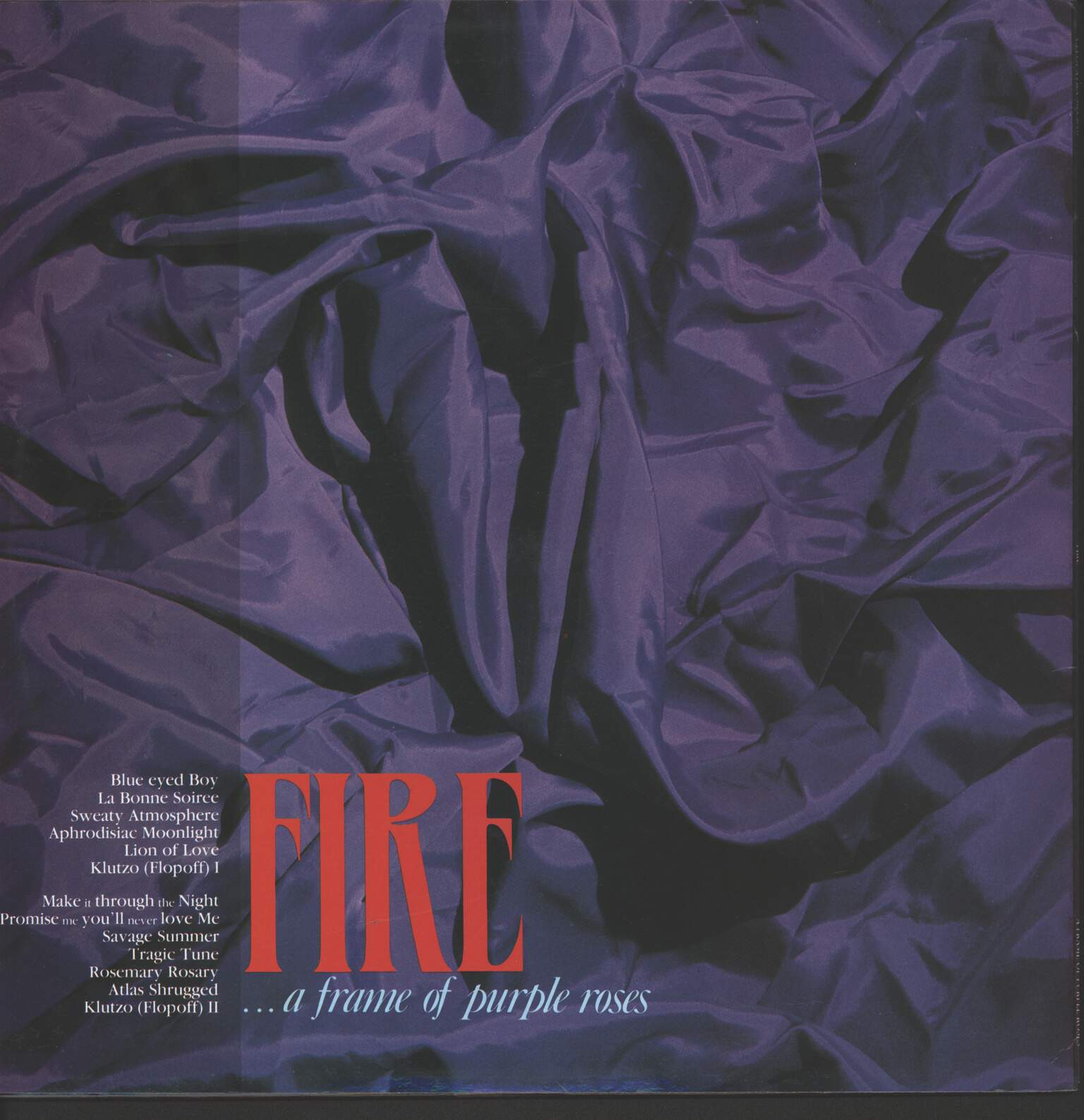 Fire: A Frame Of Purple Roses, LP (Vinyl)