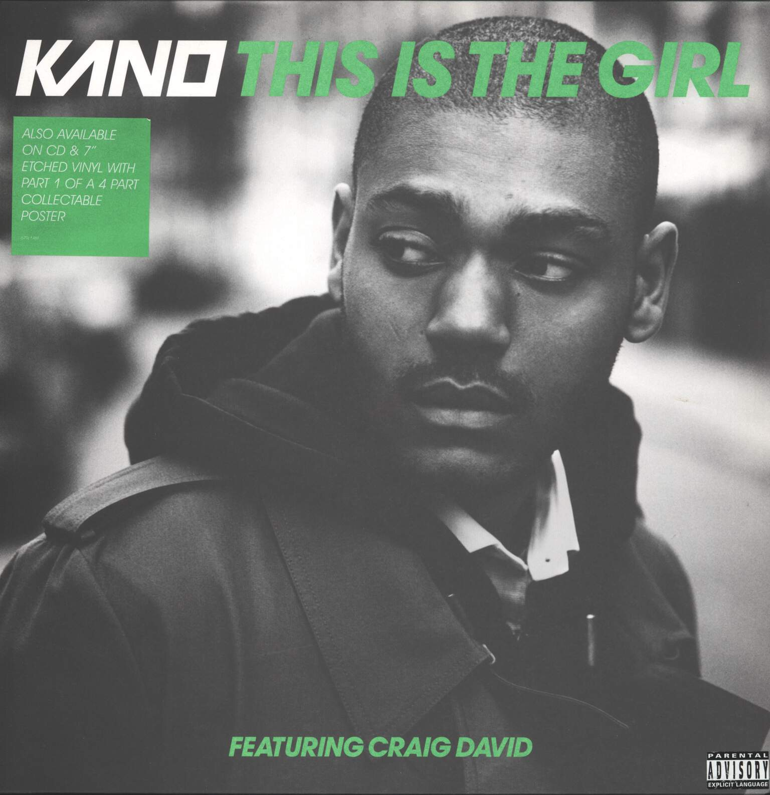 "Kano: This Is The Girl, 12"" Maxi Single (Vinyl)"