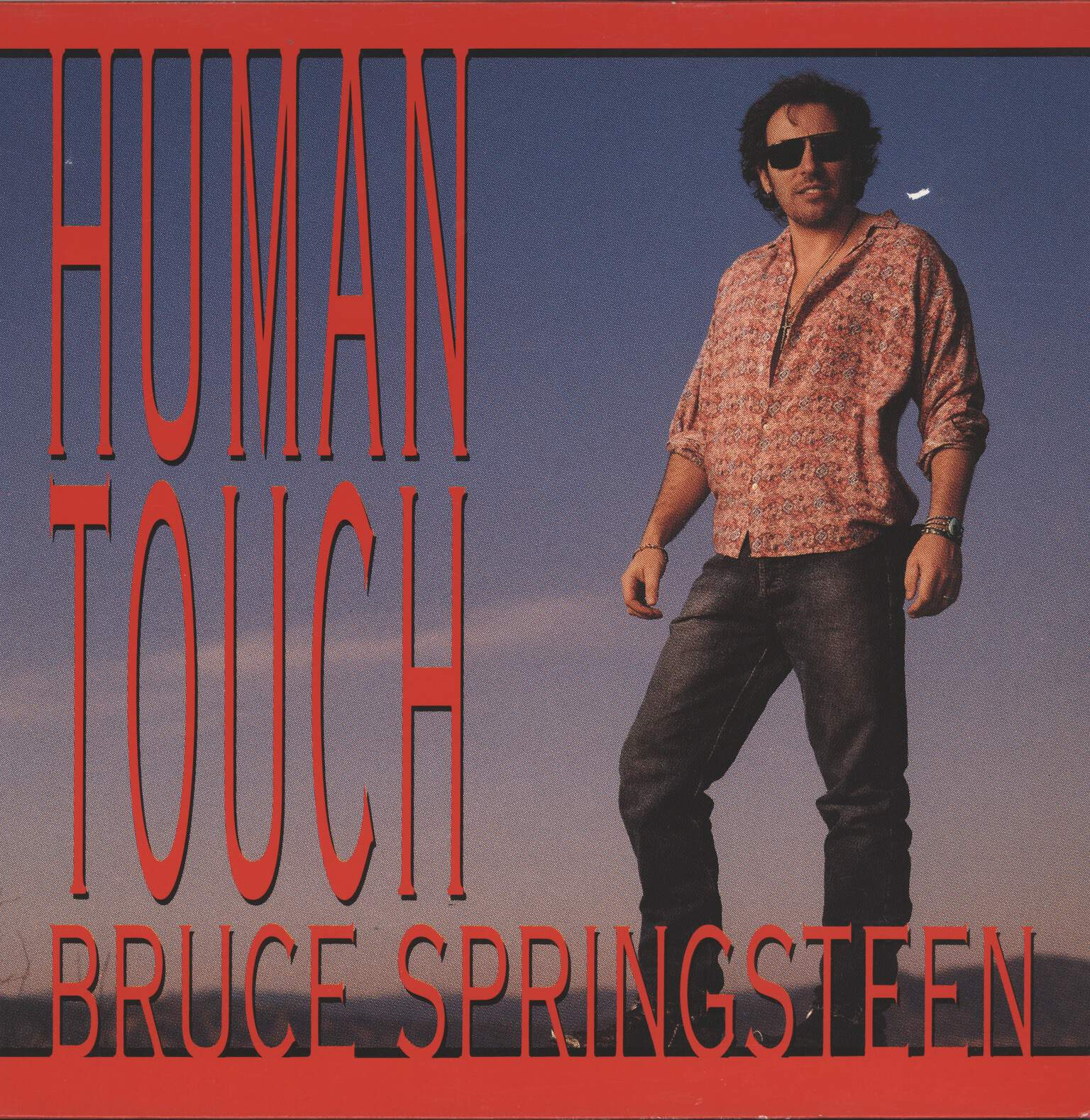 "Bruce Springsteen: Human Touch / Souls Of The Departed / Long Goodbye, 12"" Maxi Single (Vinyl)"