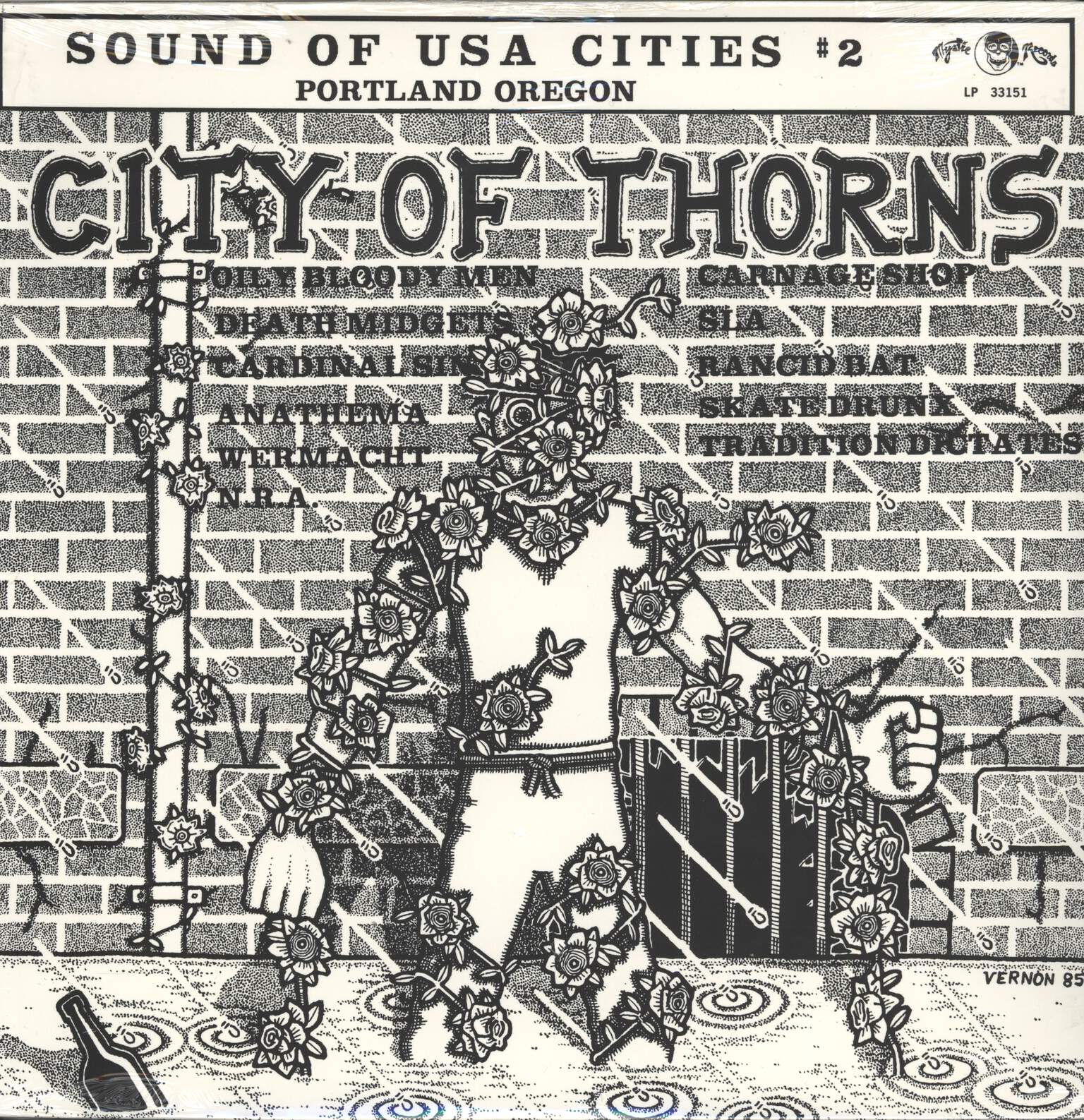 Various: City Of Thorns, LP (Vinyl)