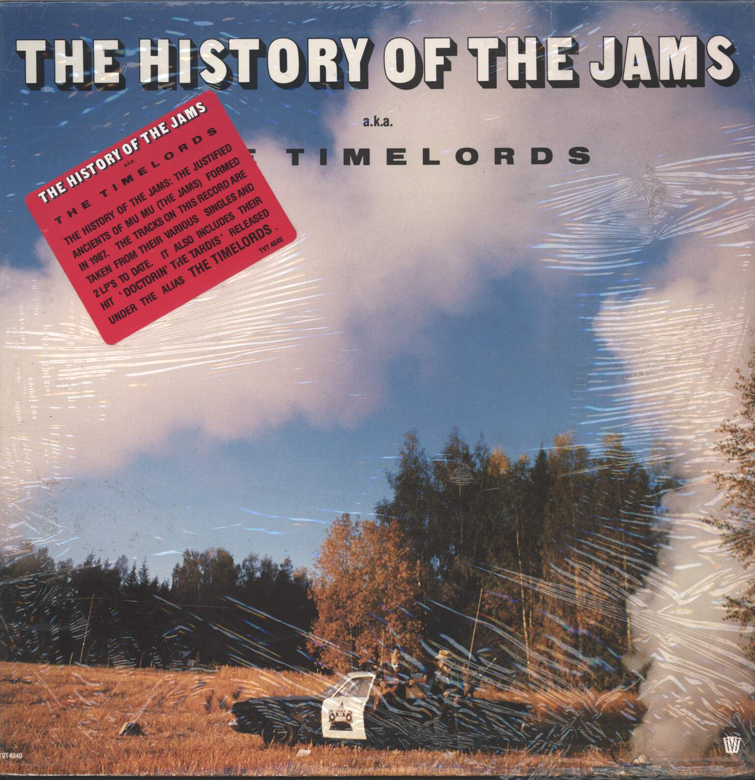 Justified Ancients Of Mu Mu: The History Of The Jams Aka The Timelords, LP (Vinyl)