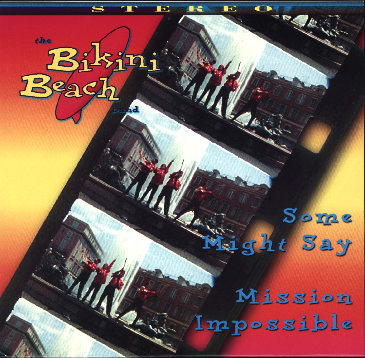 "Bikini Beach Band: Some Might Say / Mission Impossible, 7"" Single (Vinyl)"