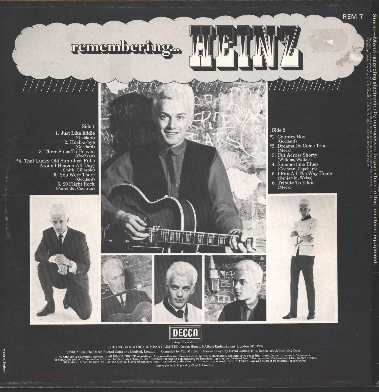 Heinz: Remembering, LP (Vinyl)