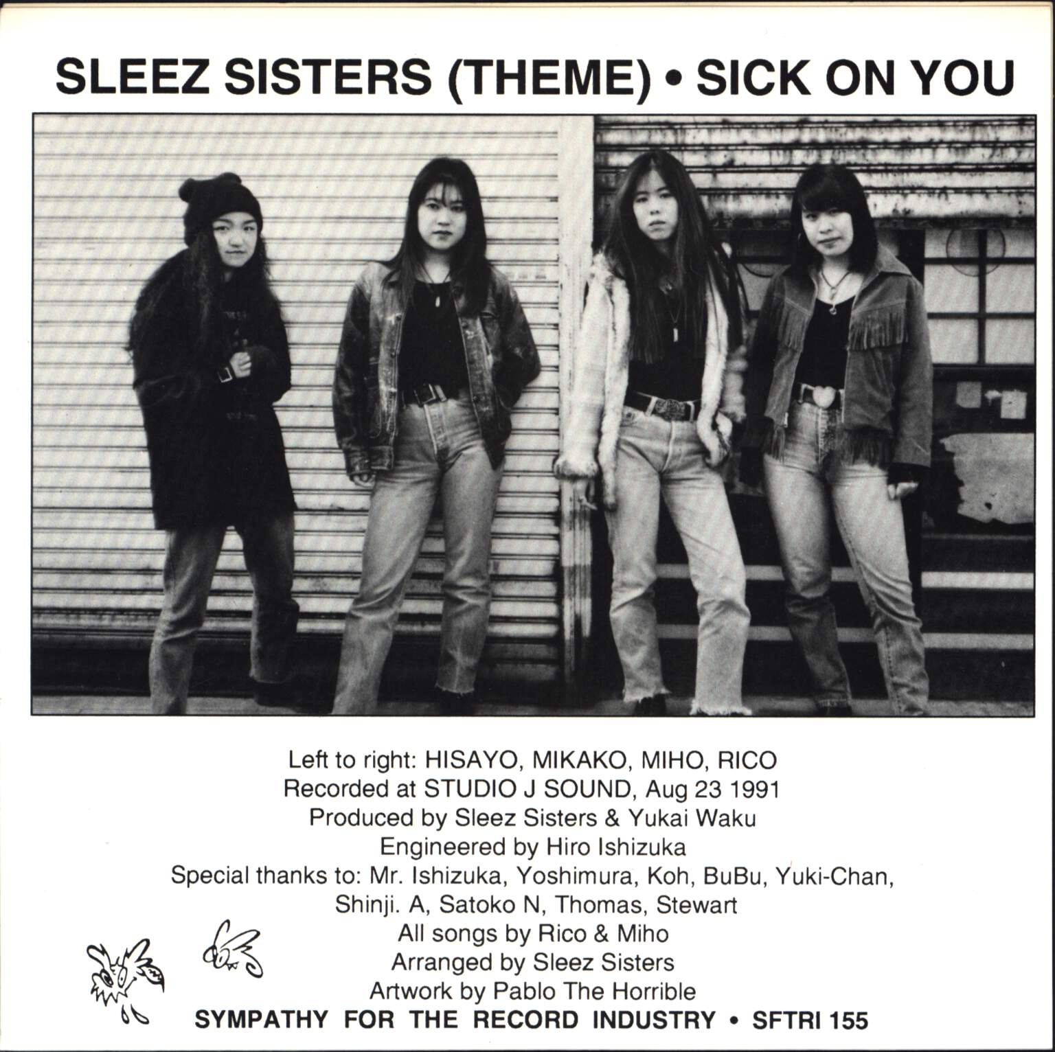 "Sleez Sisters: Sleez Sisters (Theme), 7"" Single (Vinyl)"