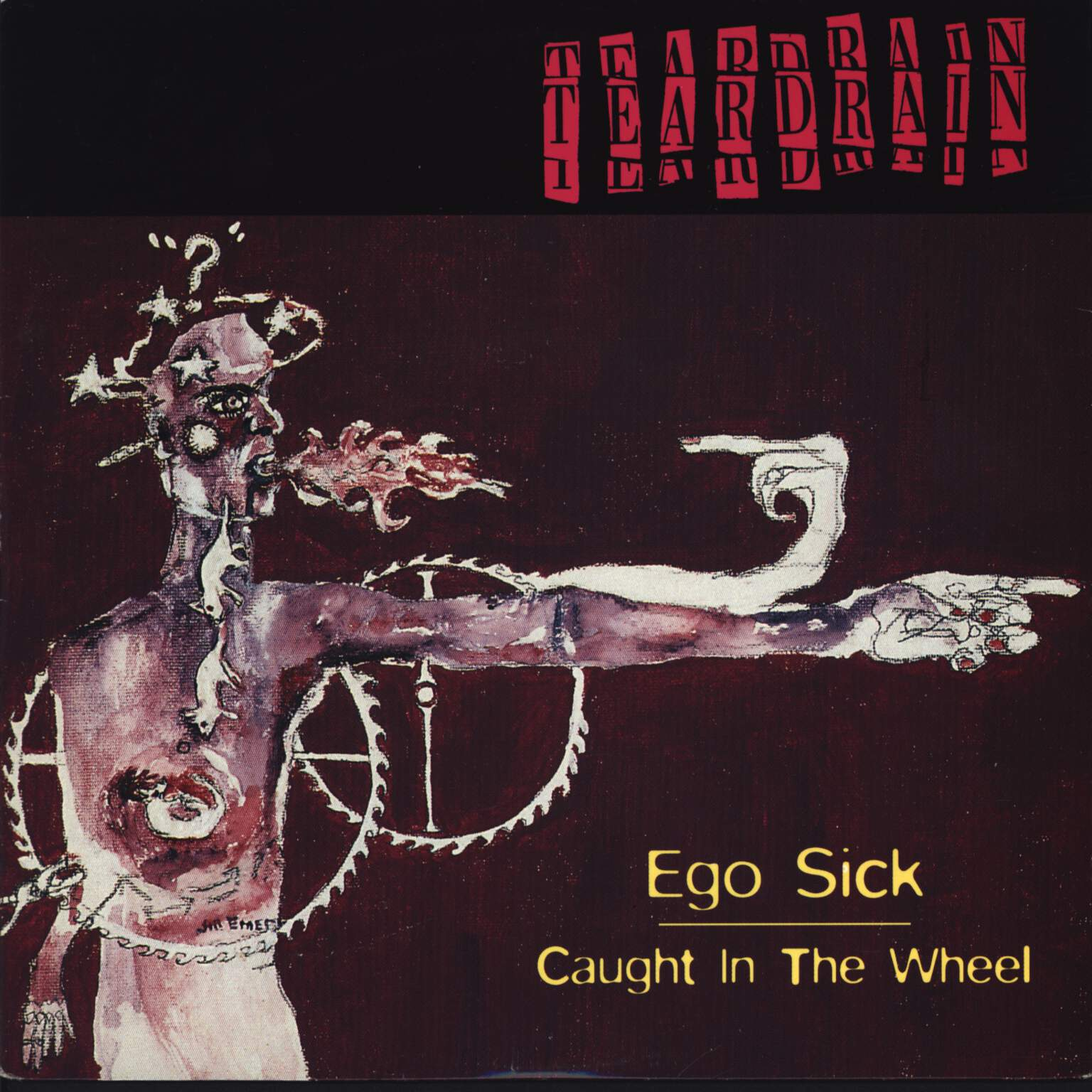 "Teardrain: Ego Sick, 7"" Single (Vinyl)"