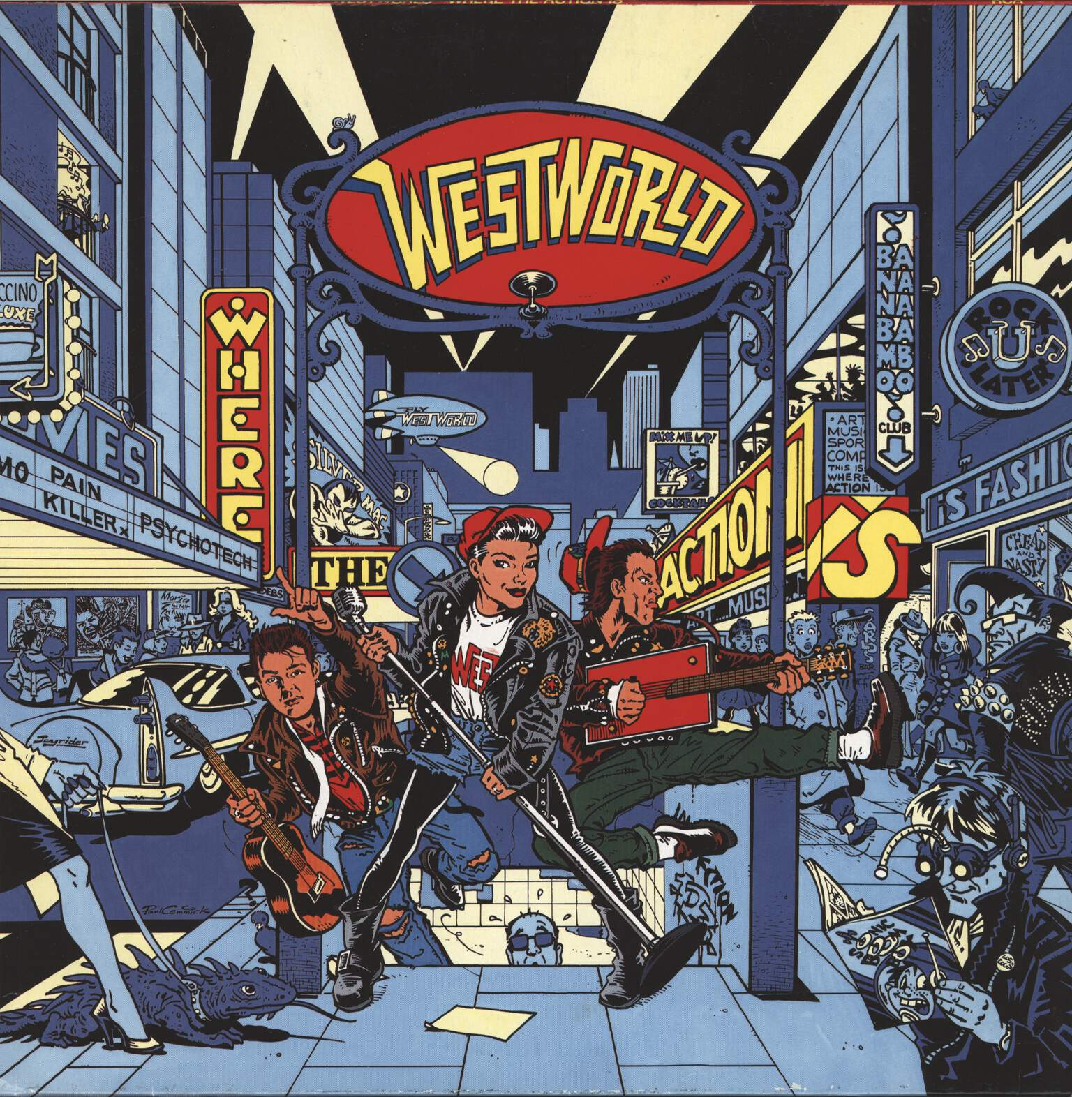 Westworld: Where The Action Is, LP (Vinyl)