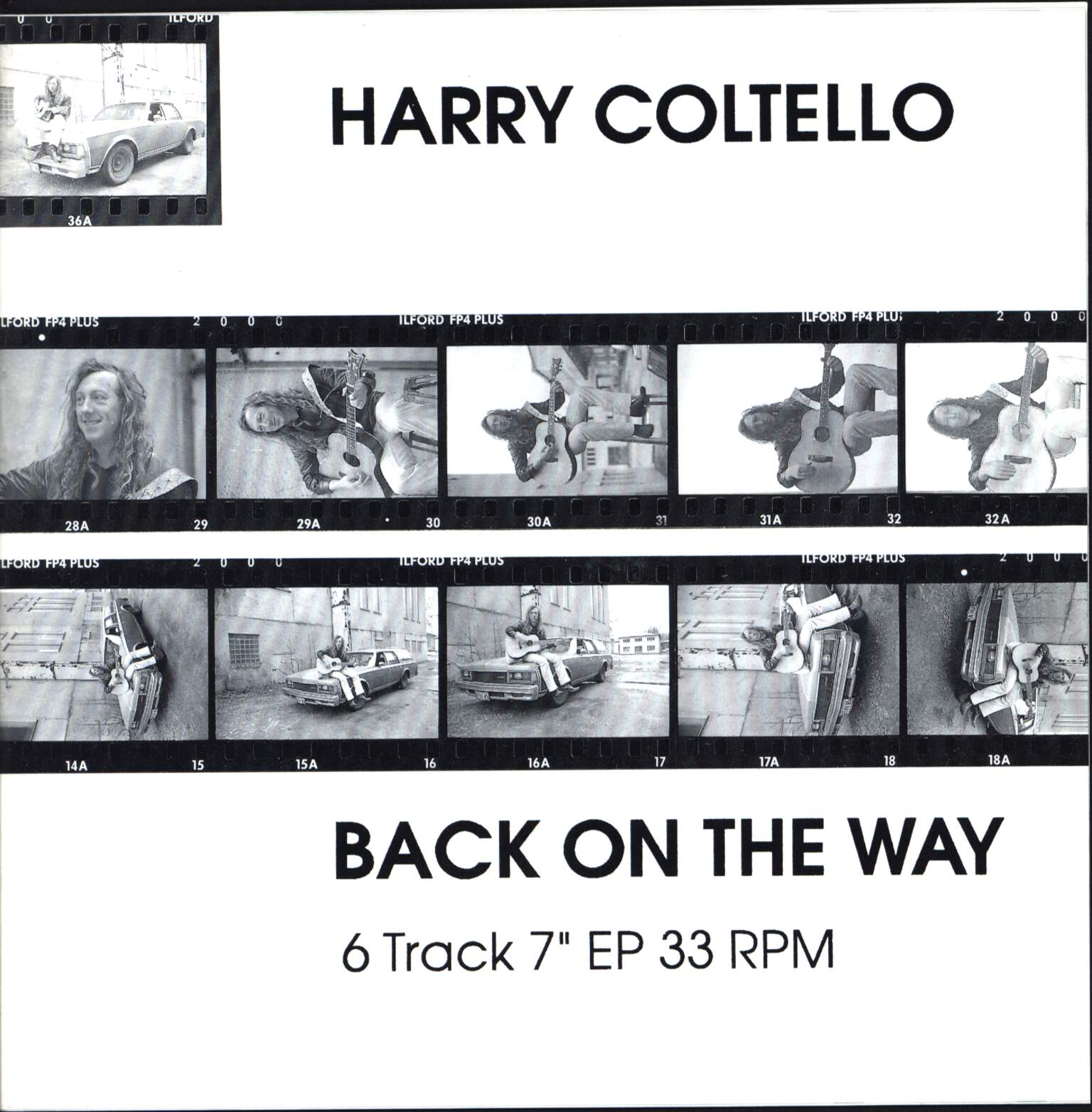 "Harry Coltello: Back On The Way, 7"" Single (Vinyl)"