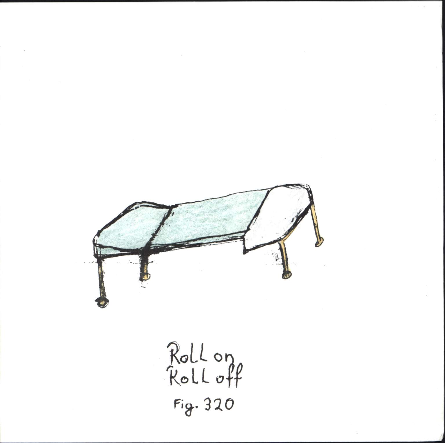 "Roll On Roll Off: Fig. 320, 7"" Single (Vinyl)"
