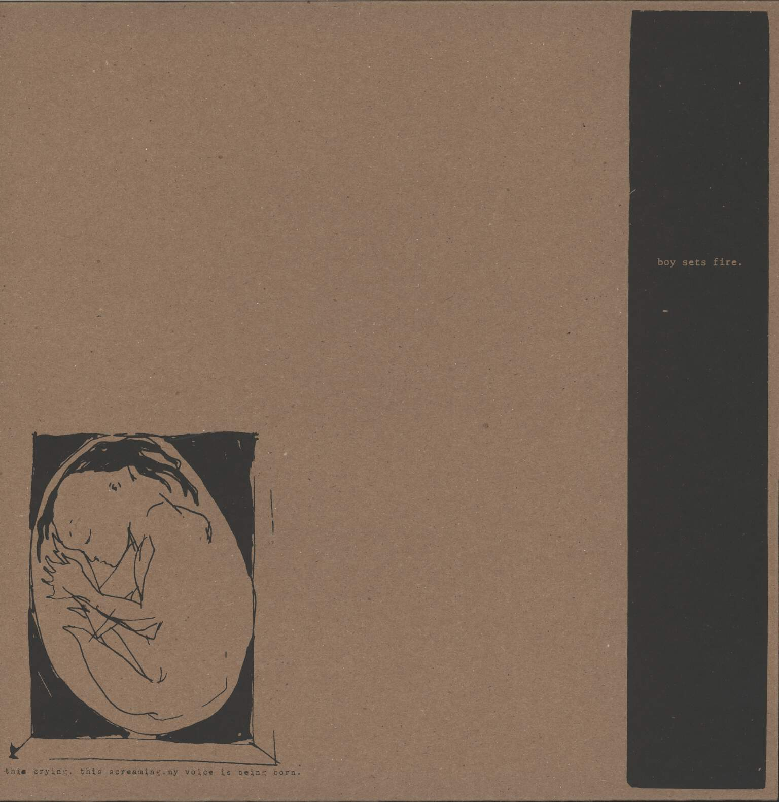 "Boysetsfire: This Crying, This Screaming, My Voice Is Being Born., 12"" Maxi Single (Vinyl)"