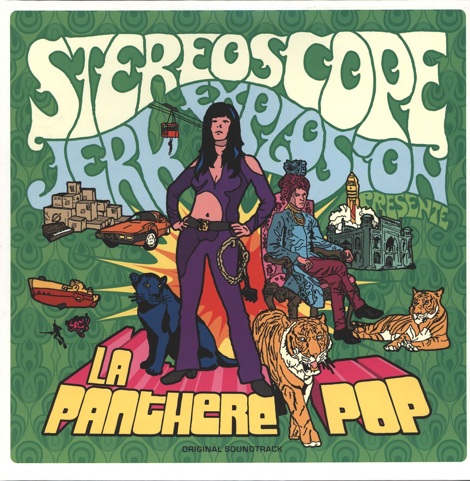 Stéréoscope Jerk Explosion: La Panthere Pop, LP (Vinyl)