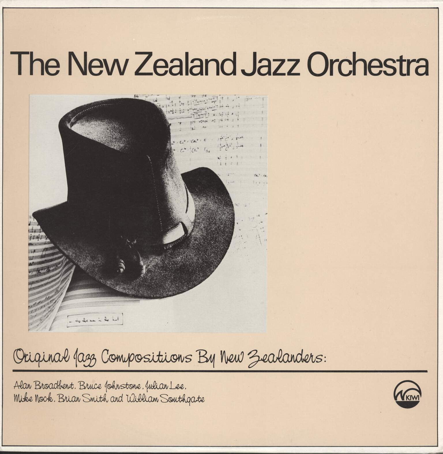 New Zealand Jazz Orchestra: Original Jazz Compositions By New Zealanders, LP (Vinyl)