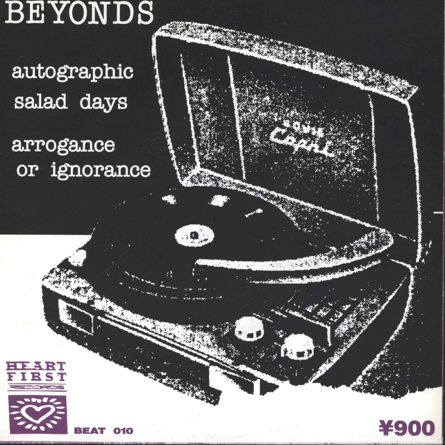 "Beyonds: Arrogance Or Ignorance, 7"" Single (Vinyl)"