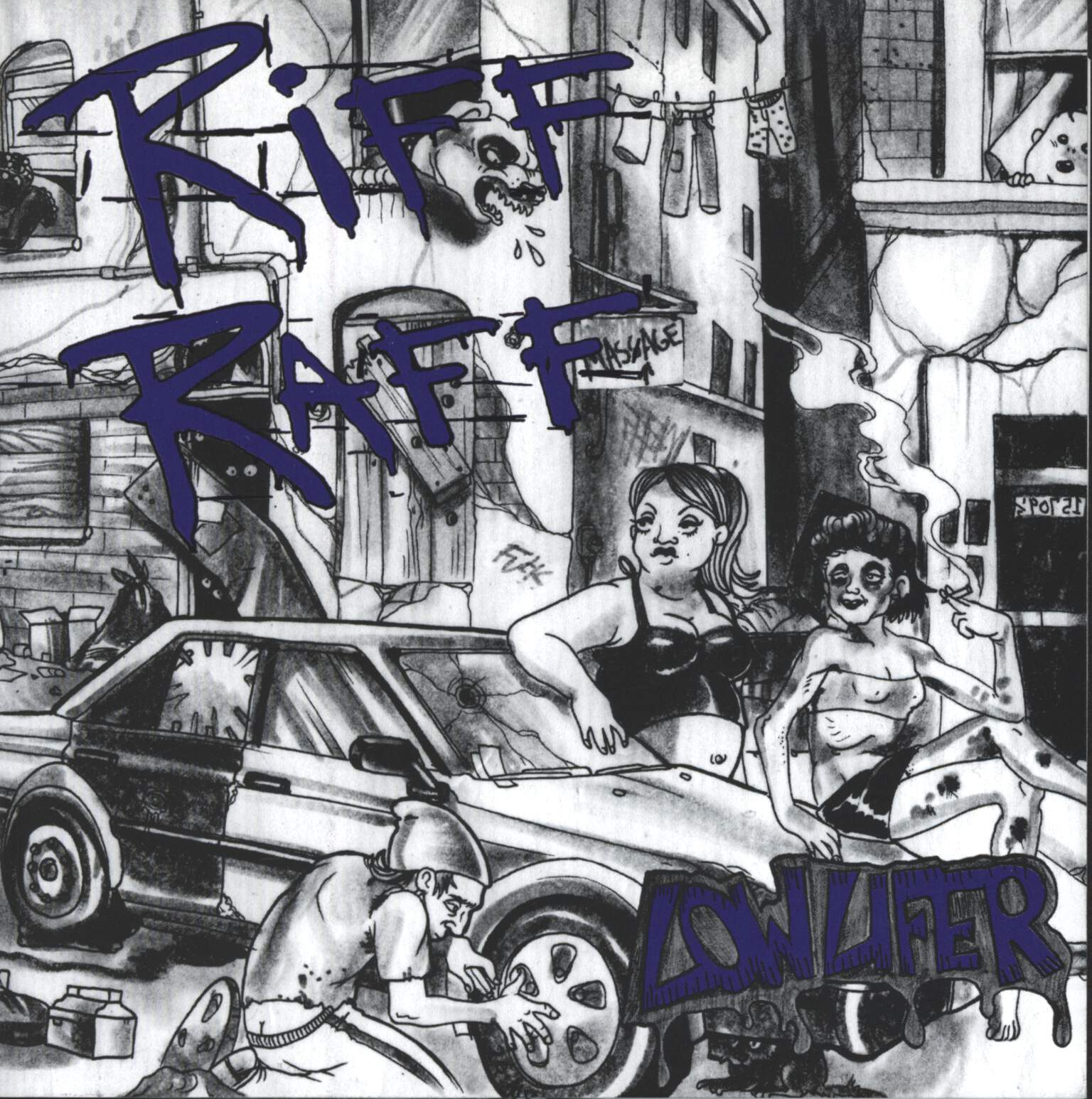 "Riff Raff: Lowlifer, 7"" Single (Vinyl)"