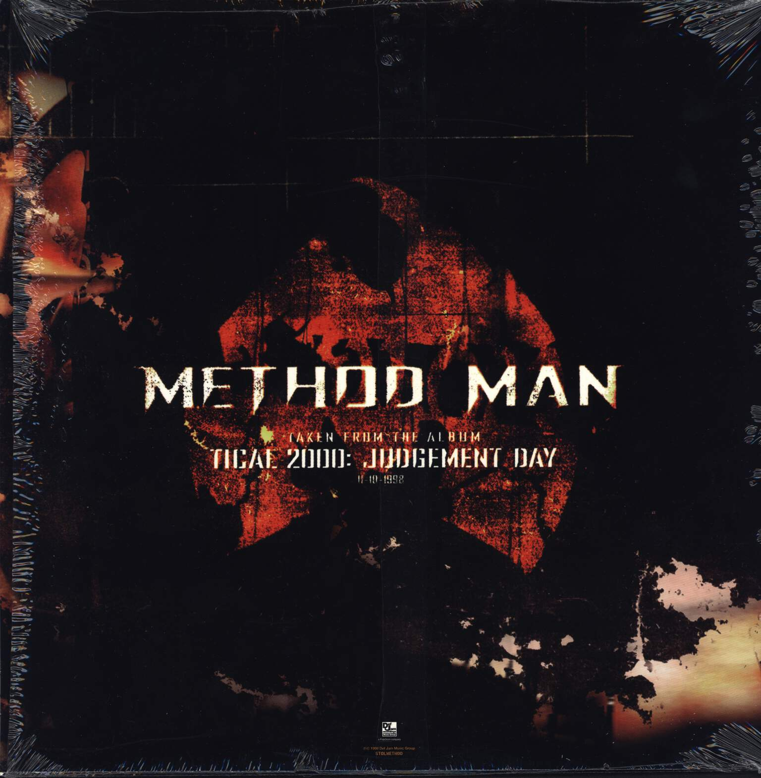 "Method Man: Judgement Day, 12"" Maxi Single (Vinyl)"
