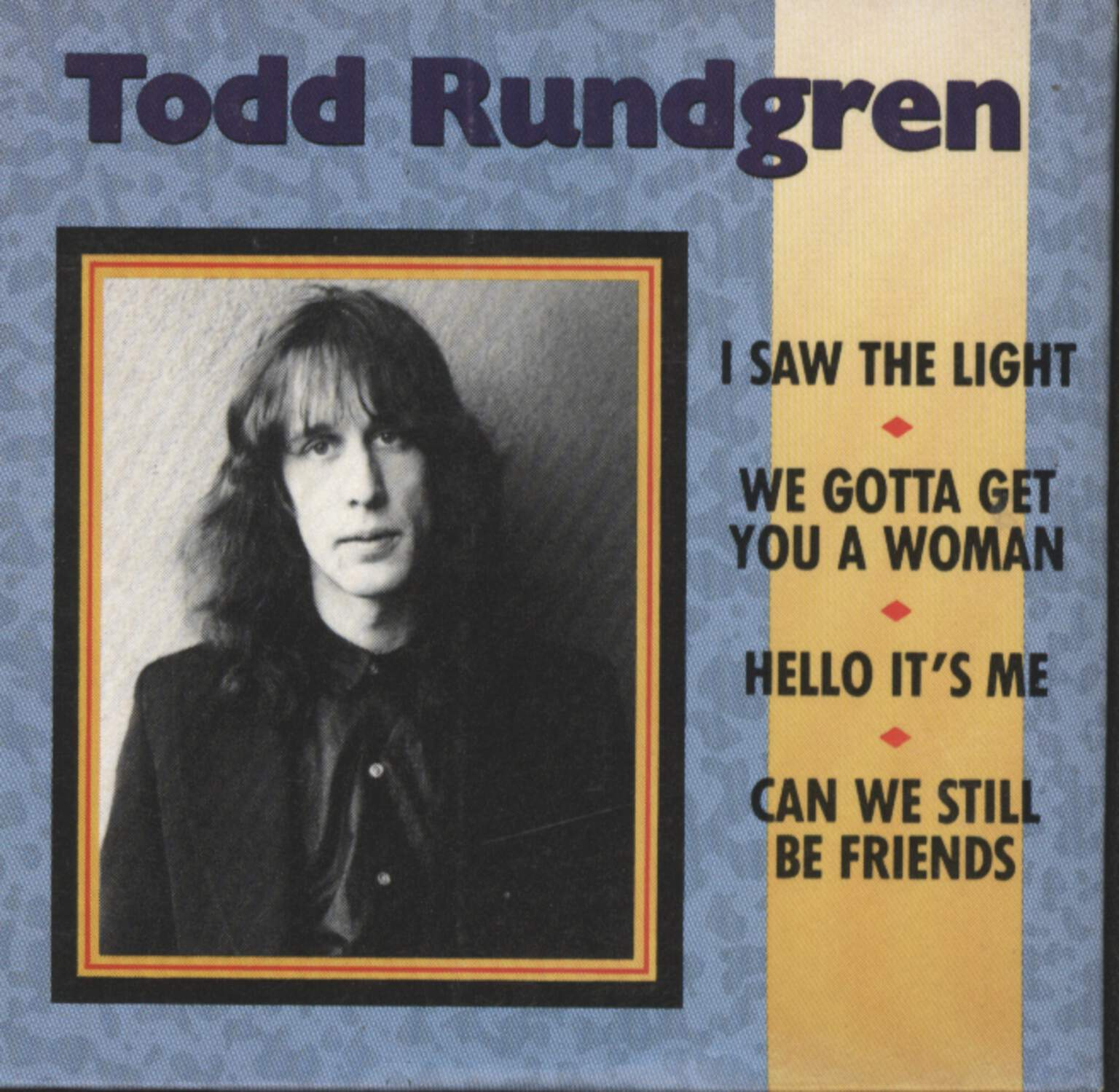 "Todd Rundgren: Lil' Bit Of Gold, 3"" CD"
